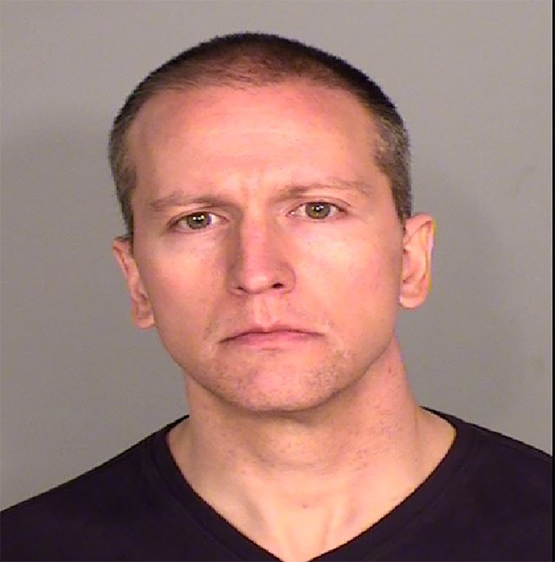 Image: Former Minneapolis Officer Derek Chauvin (Ramsey County Jail)