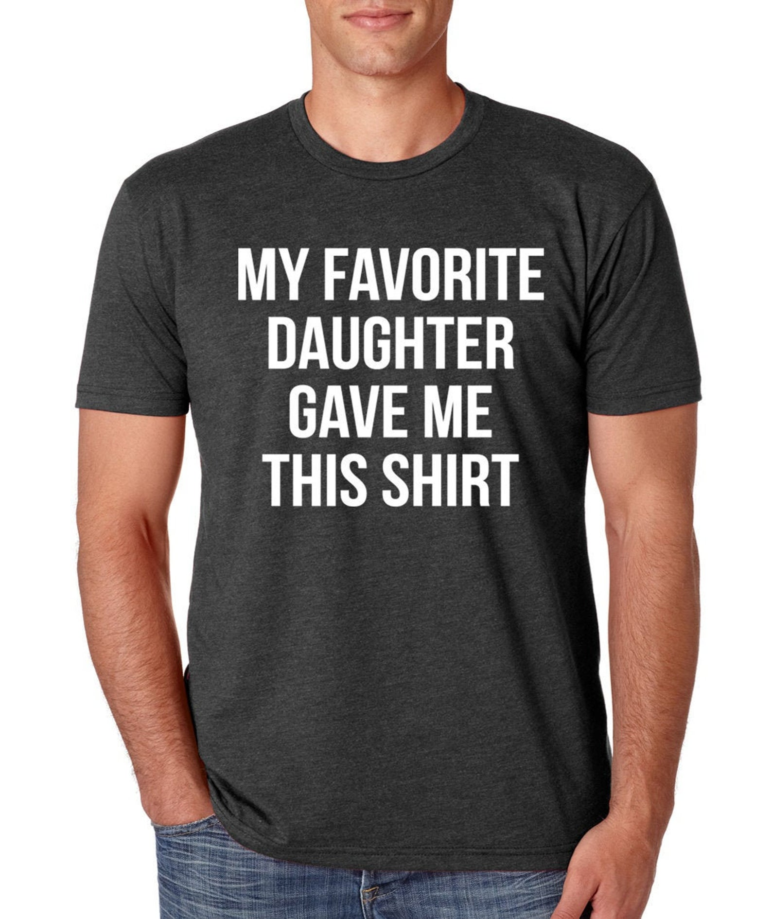 Easy-care Fathers Day Dad And Daughter Behind Every Standard Unisex T-shirt