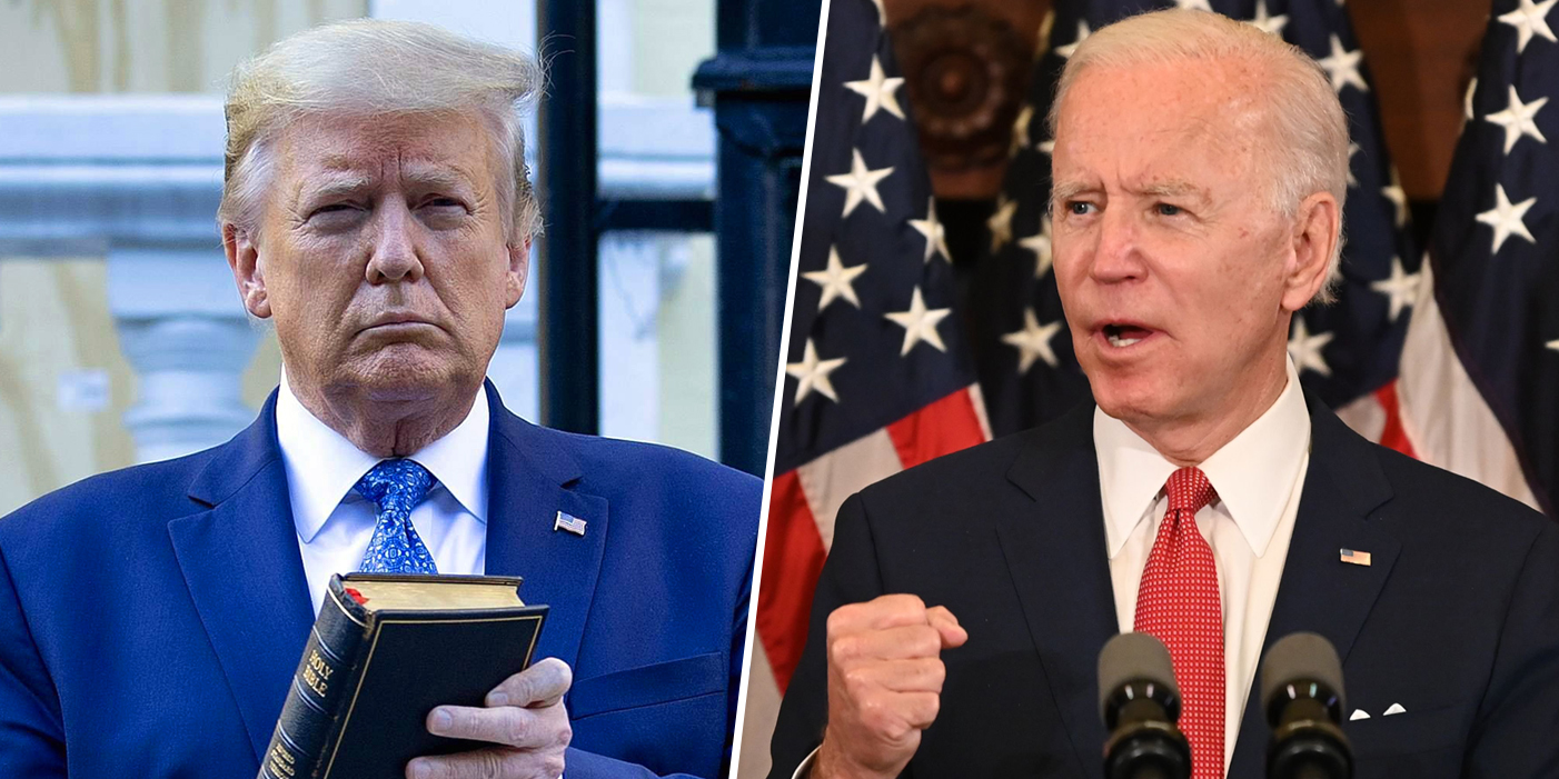 Trump vs. Biden on George Floyd protests show why so many Republicans dislike the president