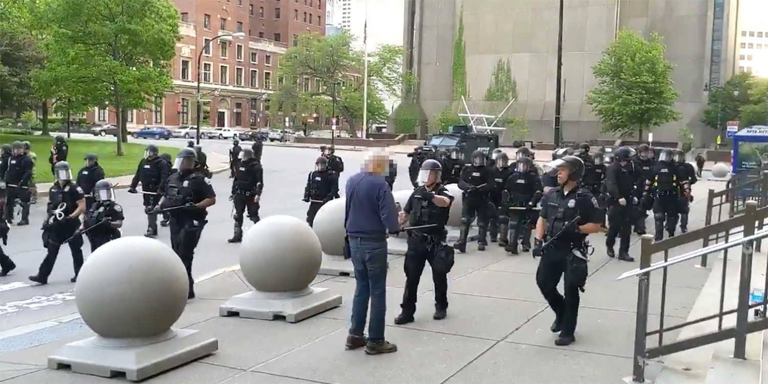 Grand jury declines charges against Buffalo officers in injury of elderly protester