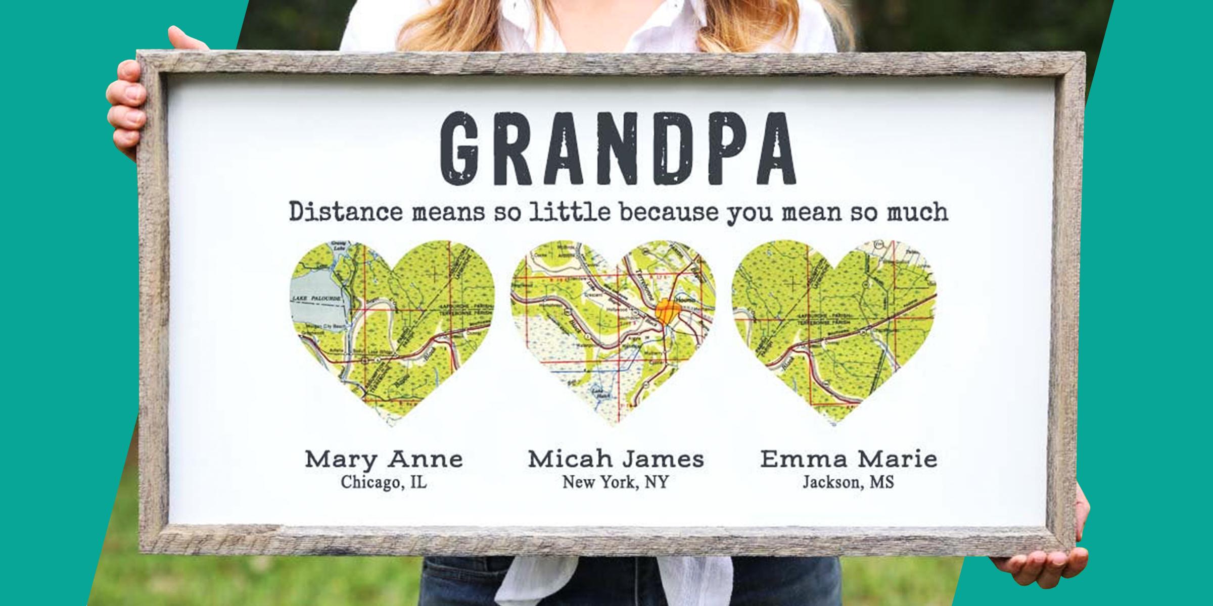 Best Grandpa Ever Fathers Day Gift for Grandpa Fathers Day Photo Frame Fathers Day Gift from Daughter Fathers Day Gift for Grandpa