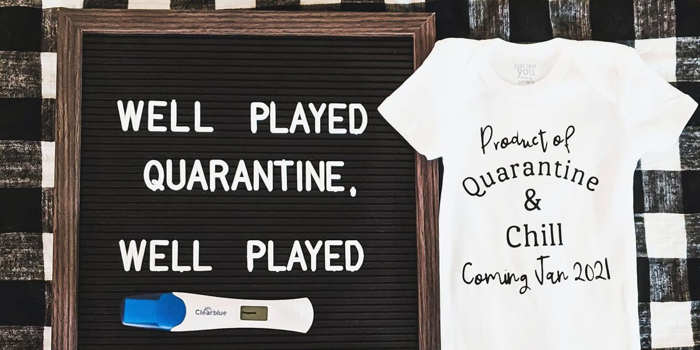 Couples Posting Creative Quarantine Pregnancy Announcements