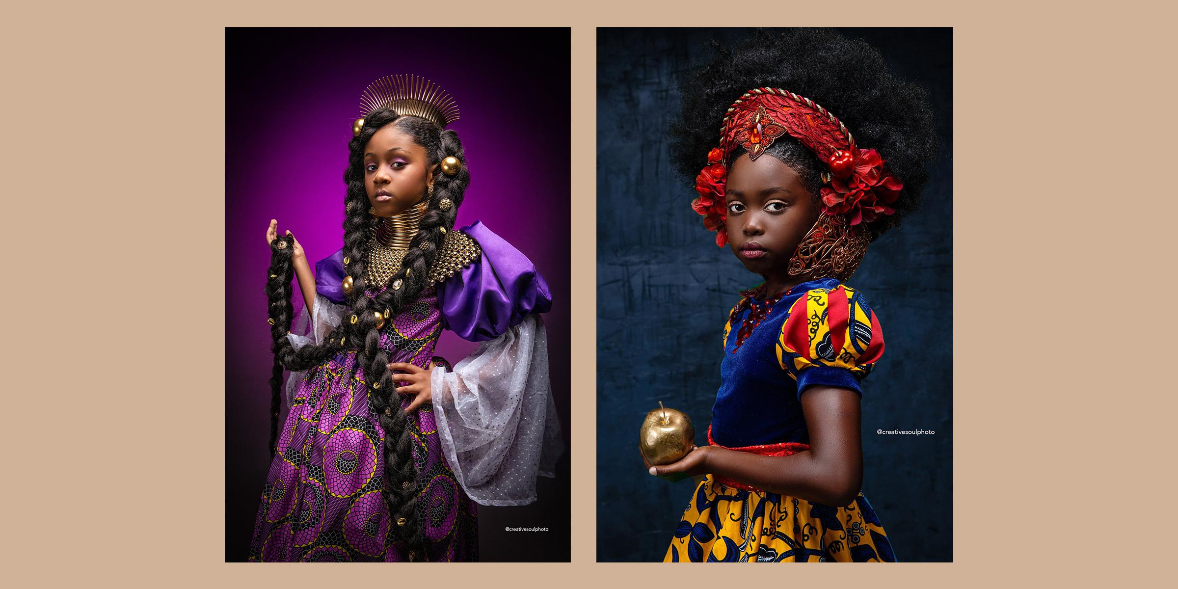 Photographers Take On Disney Princesses Empowers Black Girls