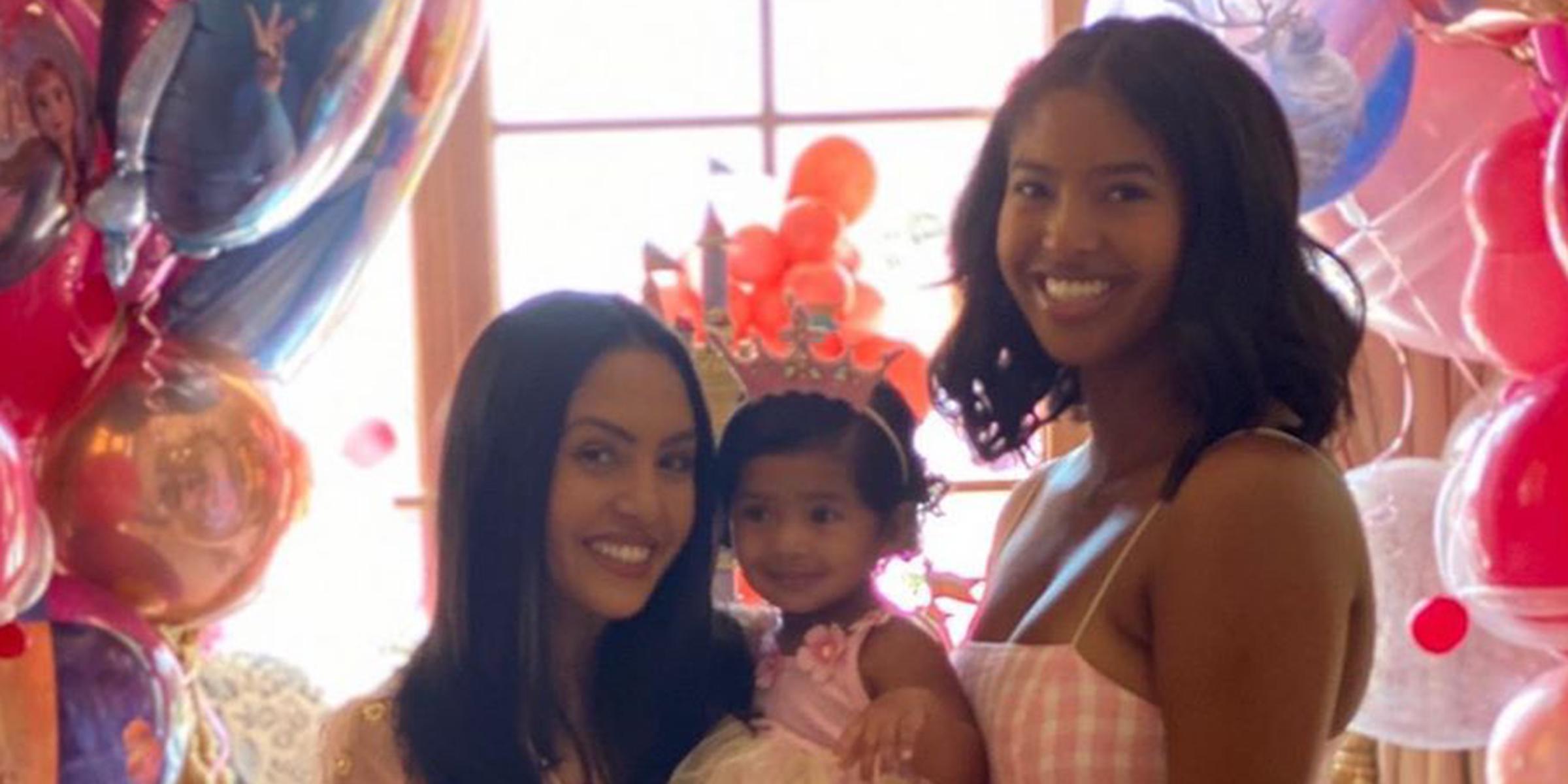 Kobe Bryant S Wife Vanessa Celebrates Daughter Capri S 1st Birthday