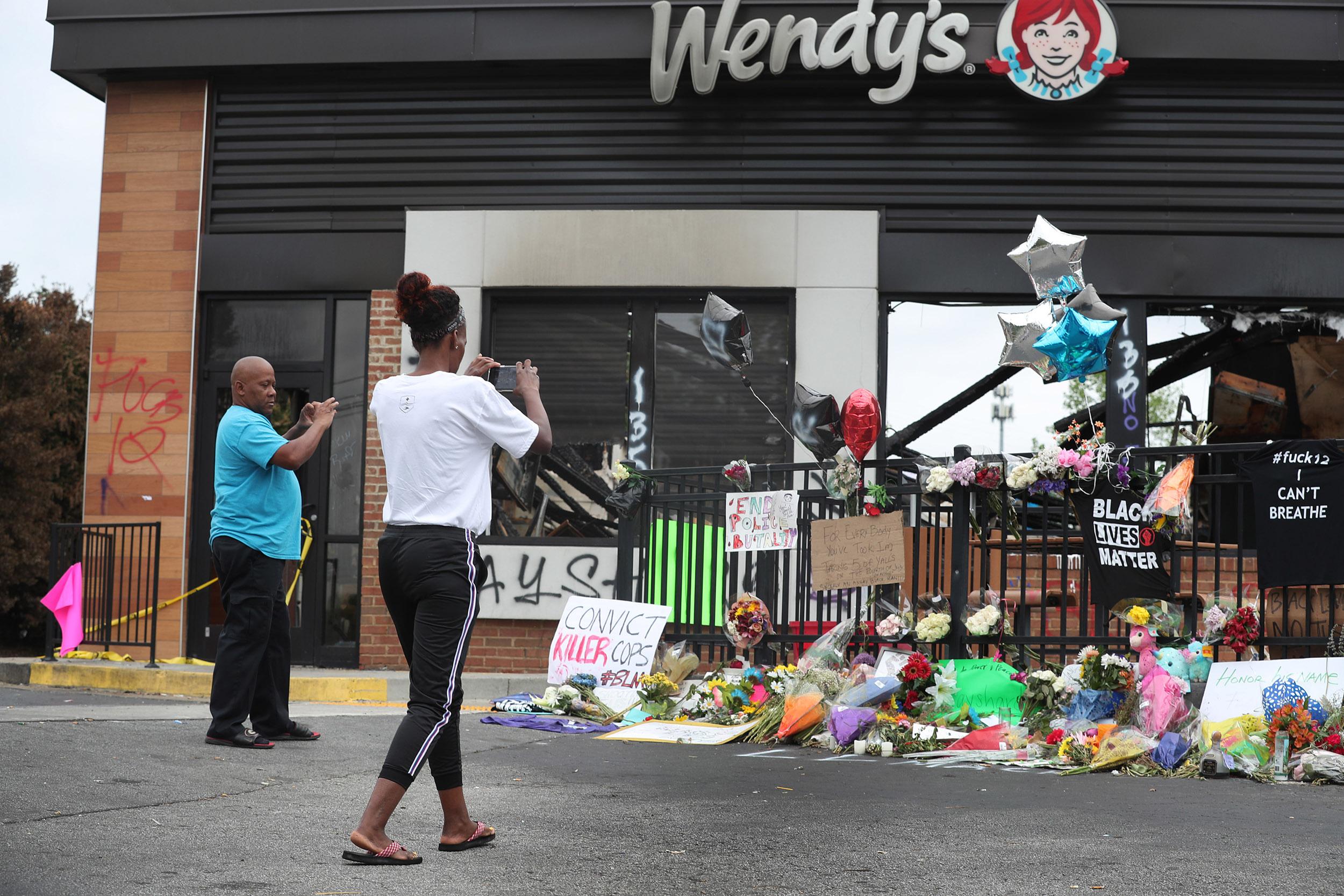 8-year-old girl fatally shot near Rayshard Brooks' memorial site