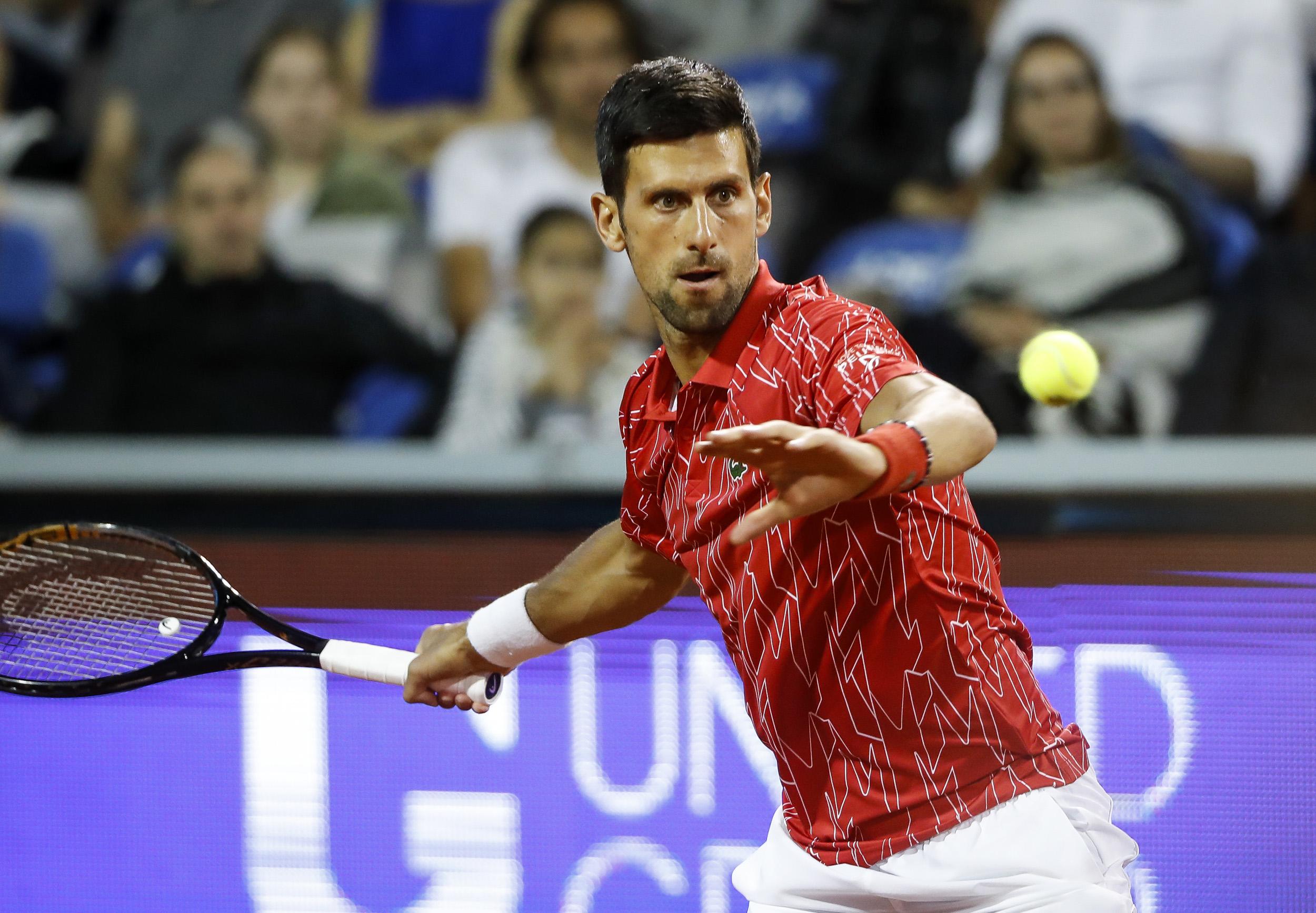 Top Ranked Tennis Star Novak Djokovic Tests Positive For The Coronavirus
