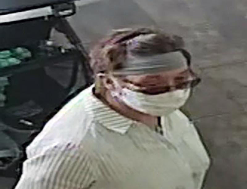 She suspect at Yogurtland in San Jose, Calif. (San Jose Police Department)