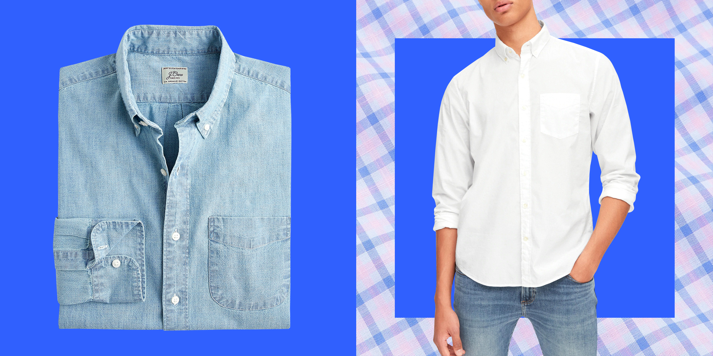 Best untucked men's button-down shirts, according to style experts