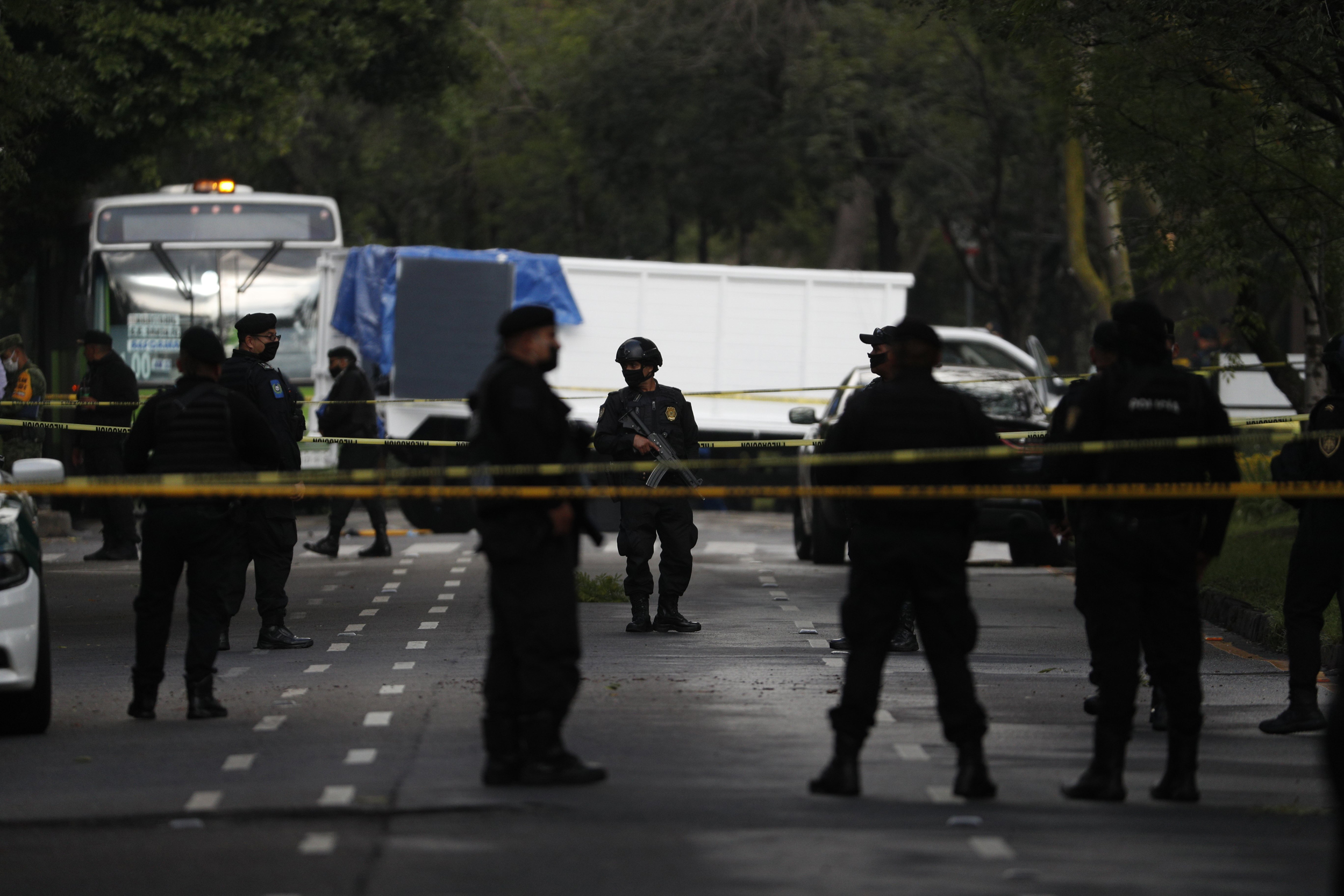Mexico City police chief shot in assassination attempt, blames ...