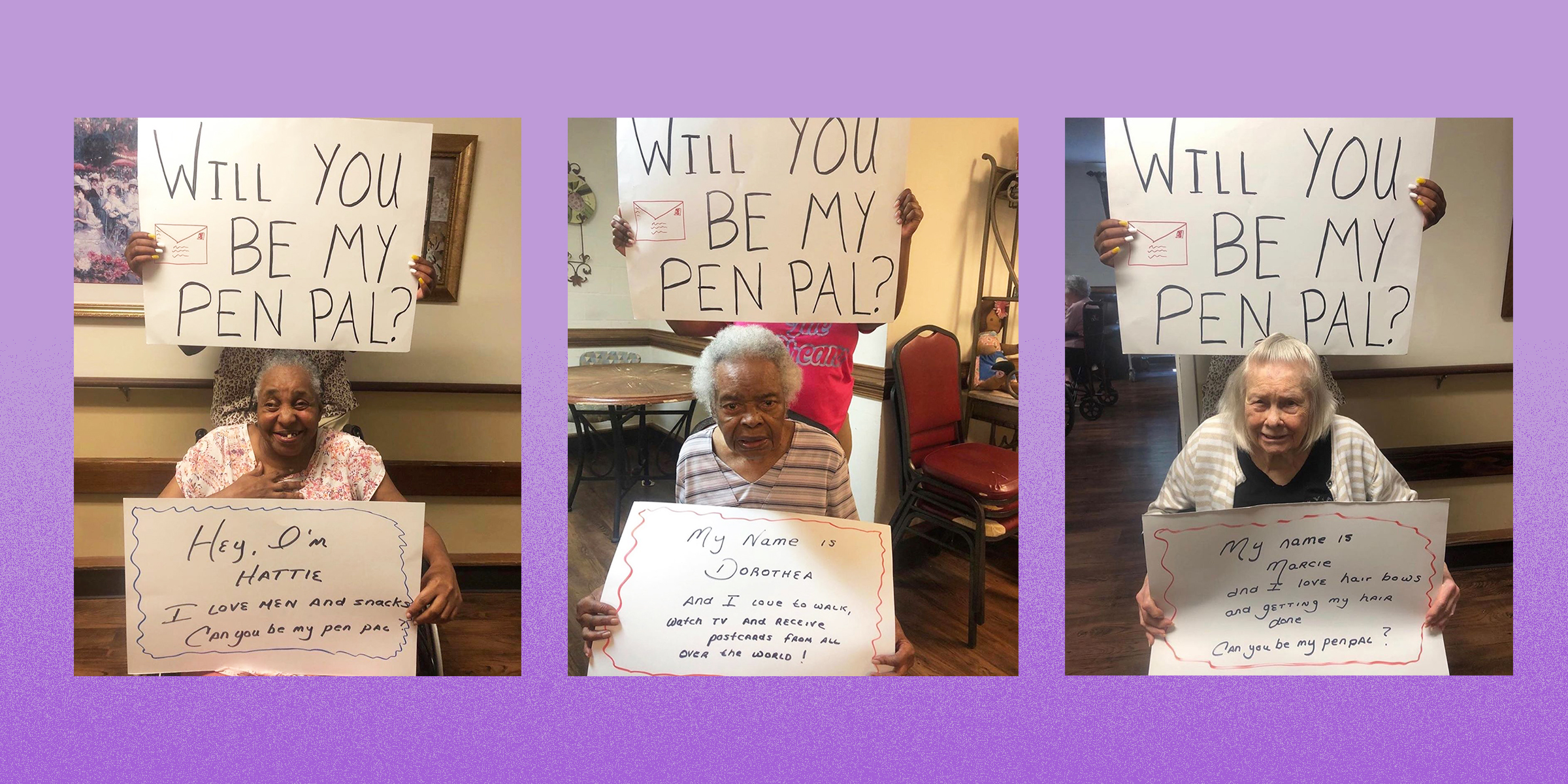 Adults for penpals international 50 things