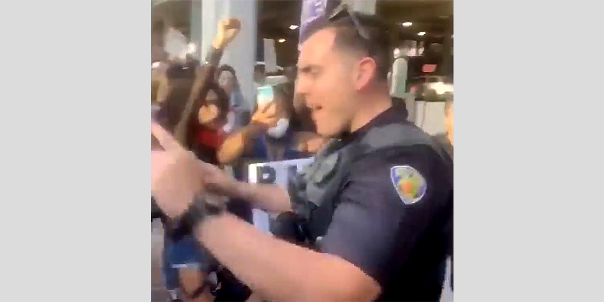 Florida-officer-caught-on-video-pushing-over-kneeling-protester-charged-with-battery