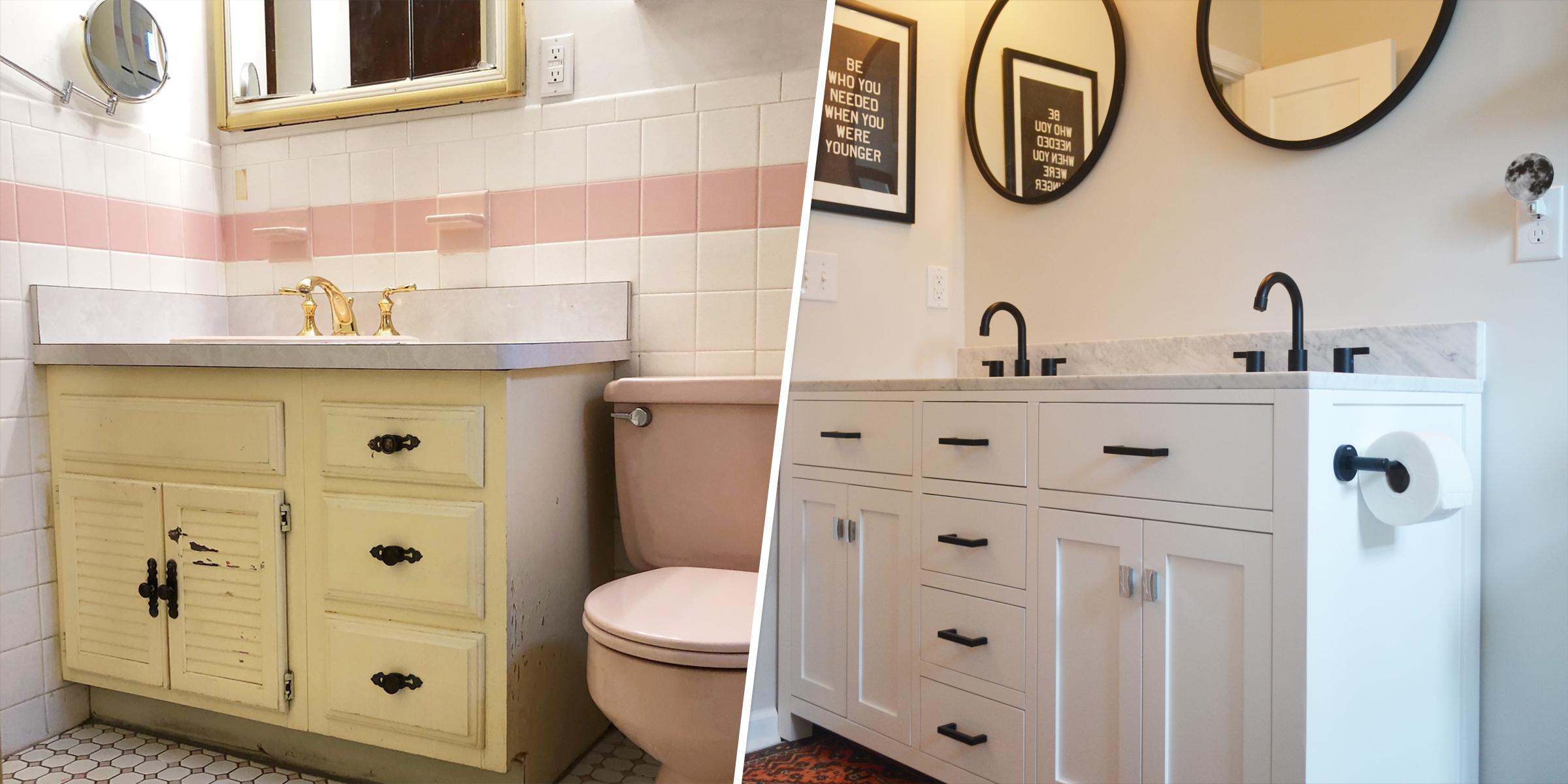 Bathroom Renovation During Coronavirus, Redoing My Bathroom