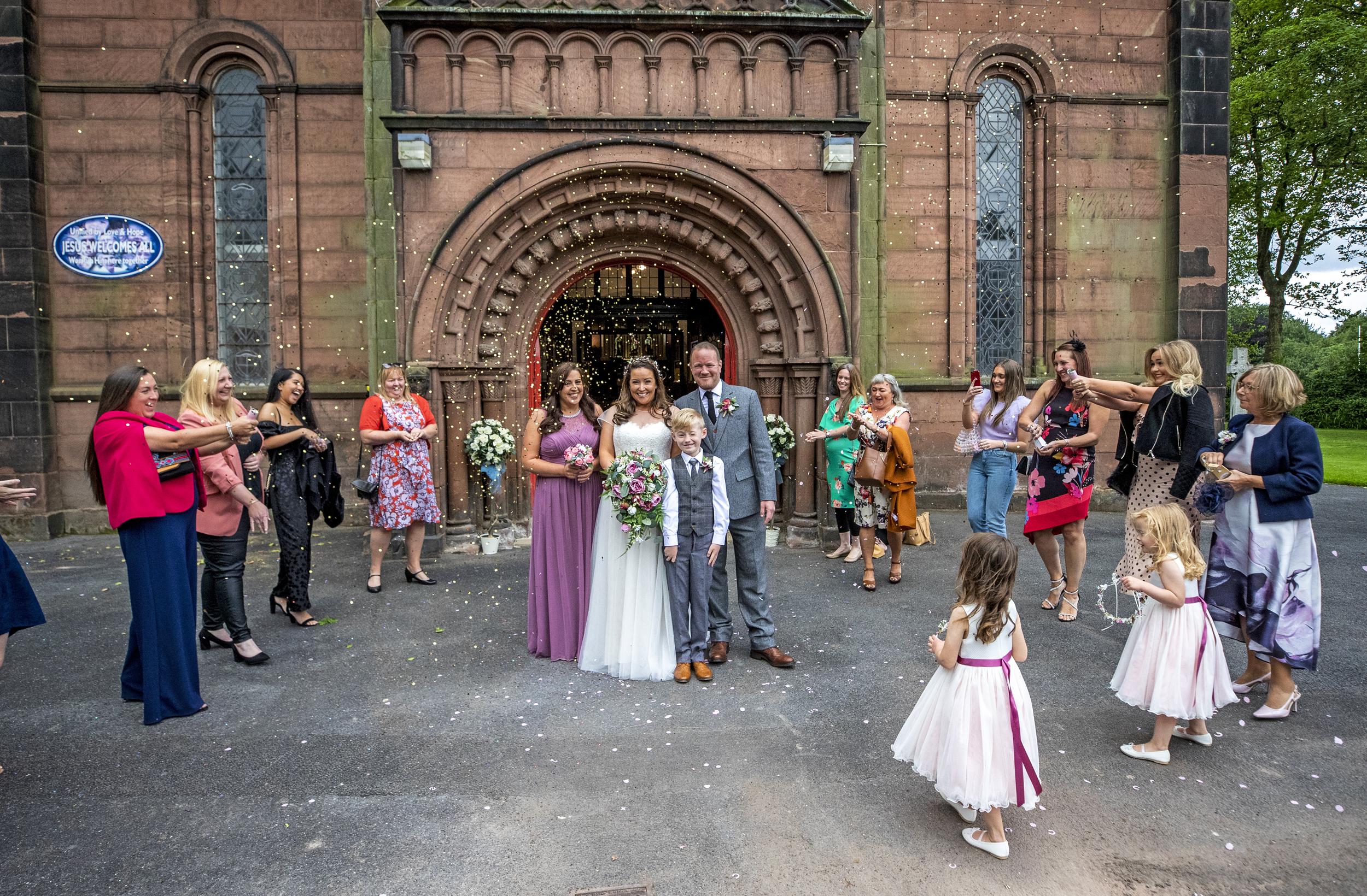 Love in the time of coronavirus: Strict guidelines reshape U.K. weddings