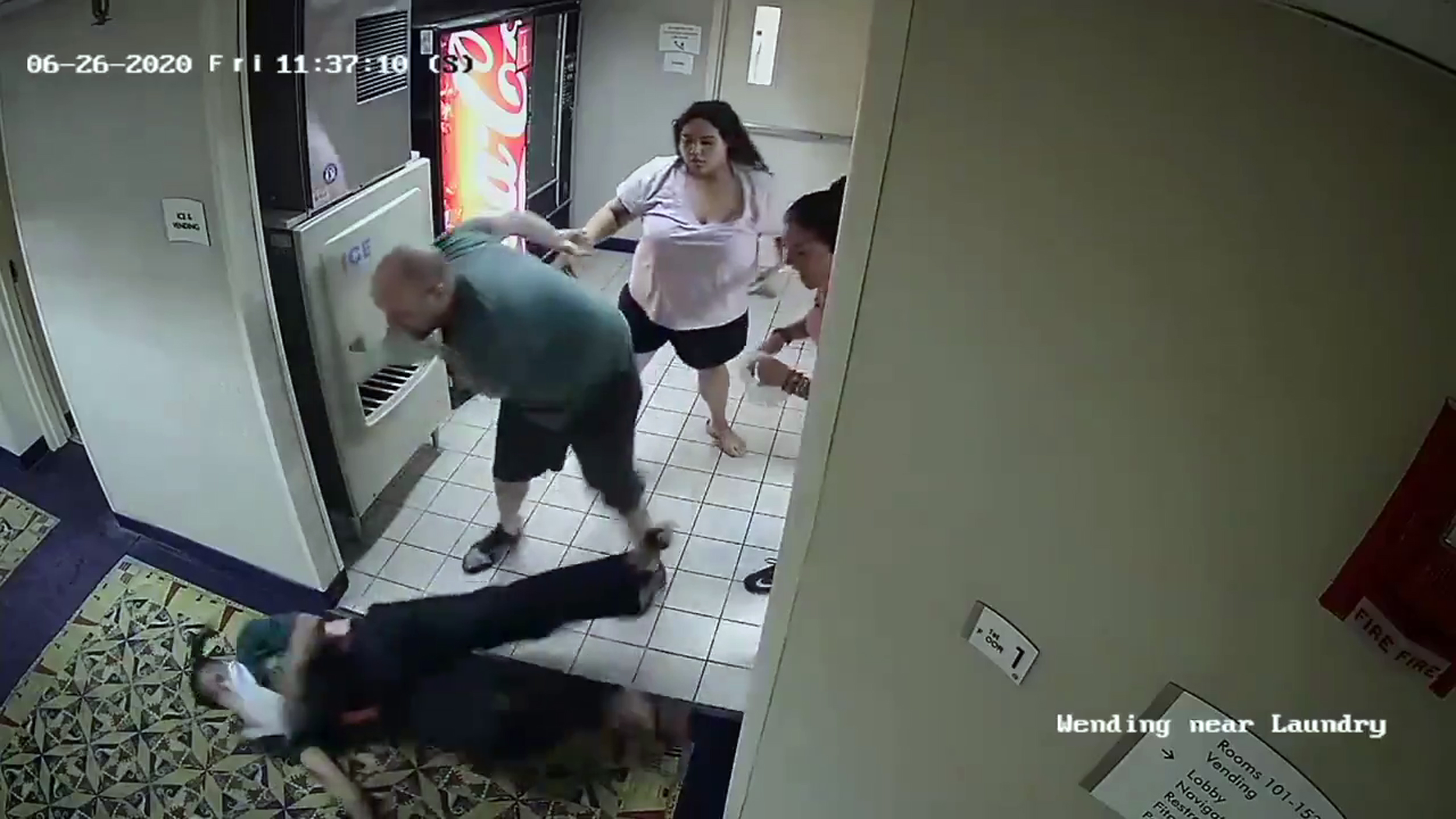 Couple accused of racist attack at Connecticut hotel arrested in N.Y.