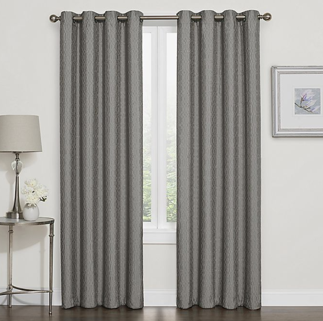 Outdoor Decor Gray Width 52 By Length 45 Pony Dance Short Blackout Curtains Grey Thermal Insulated Window Curtain Treatments Light Block Energy Saving Drapes Eco Friendly For Bedroom 2 Panels Patio Lawn