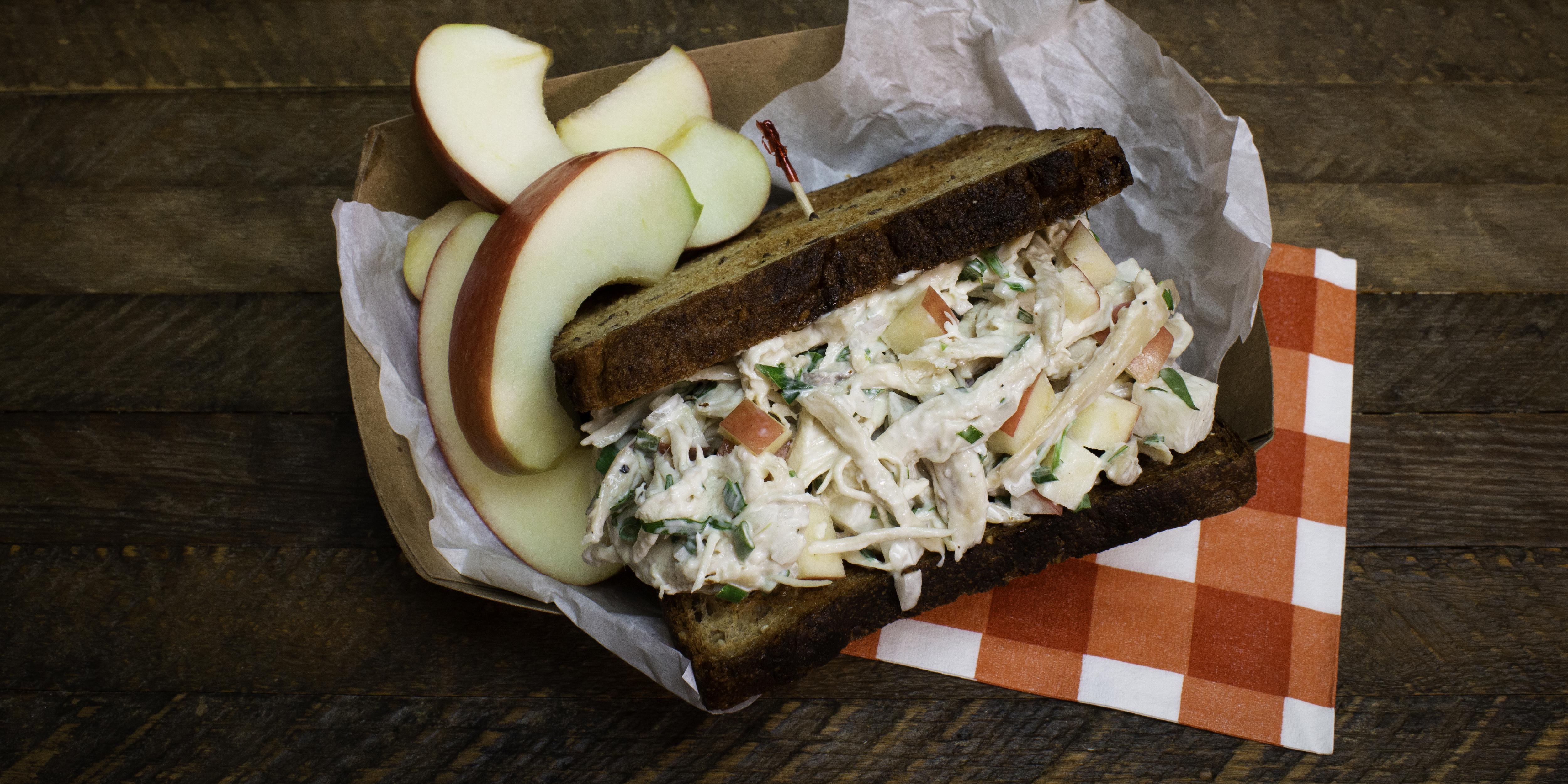 Joy Bauer adds fresh flavor and healthy mix-ins to chicken salad sandwiches