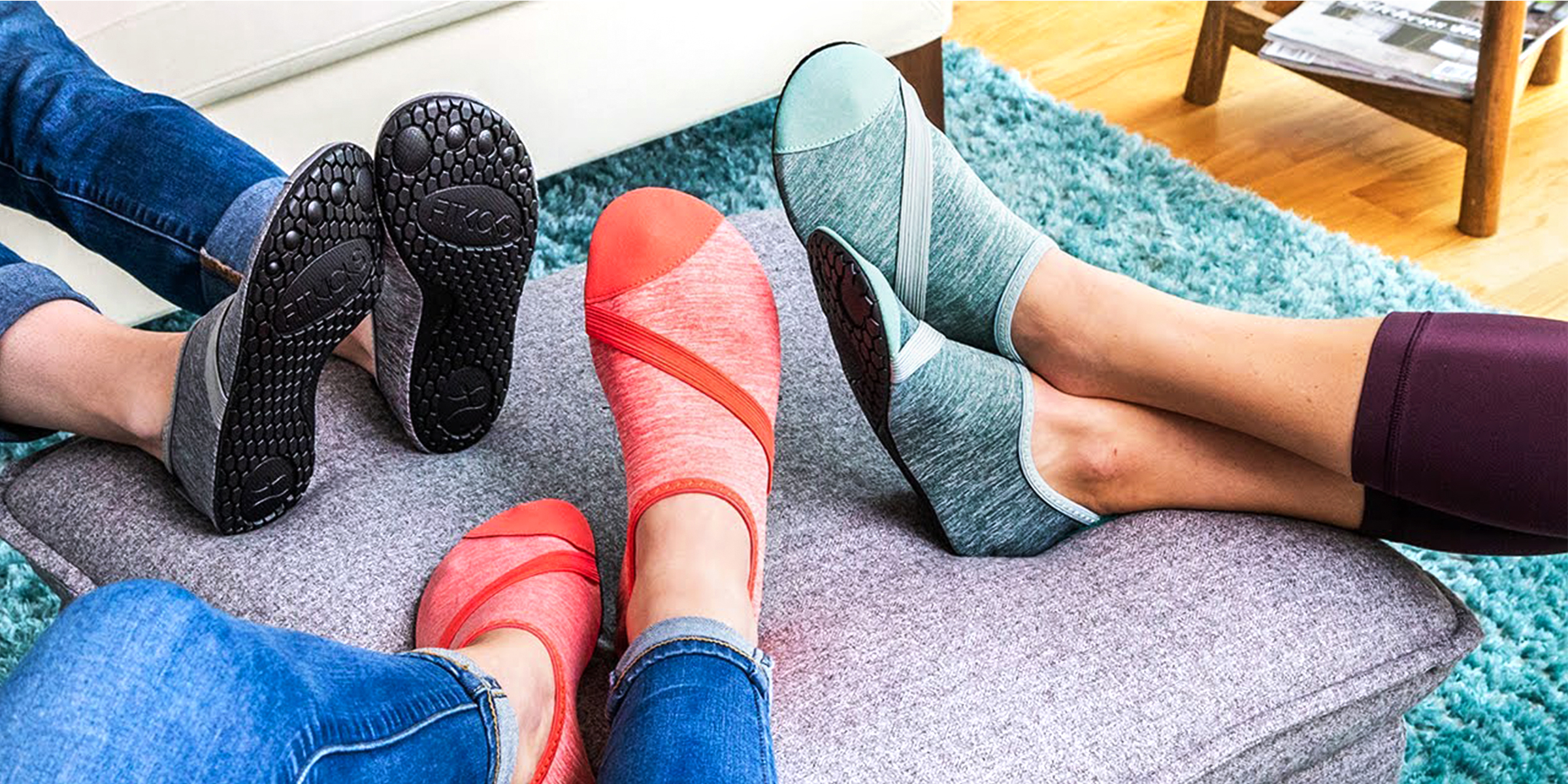 These sock-shoes are perfect for