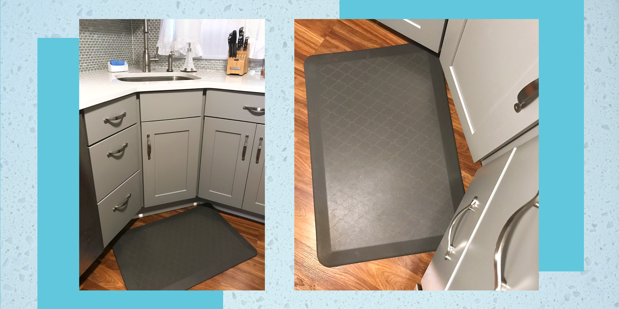 5 Kitchen Comfort Mats To Make Cleaning
