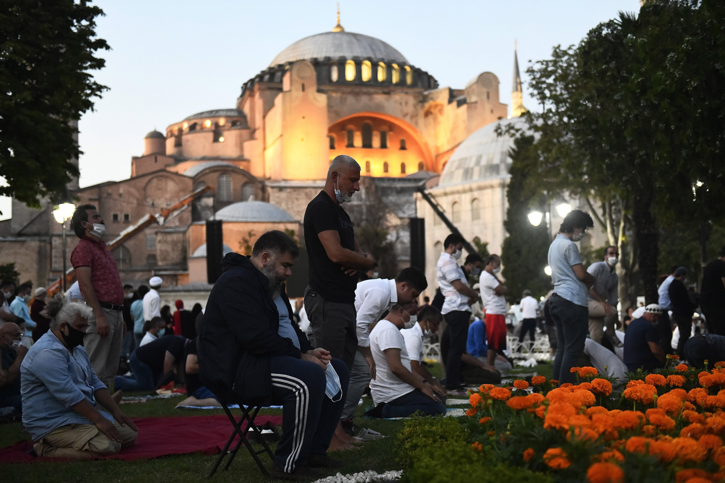 Istanbul's-Hagia-Sophia-opens-for-Muslim-prayers-for-first-time-in-86-years