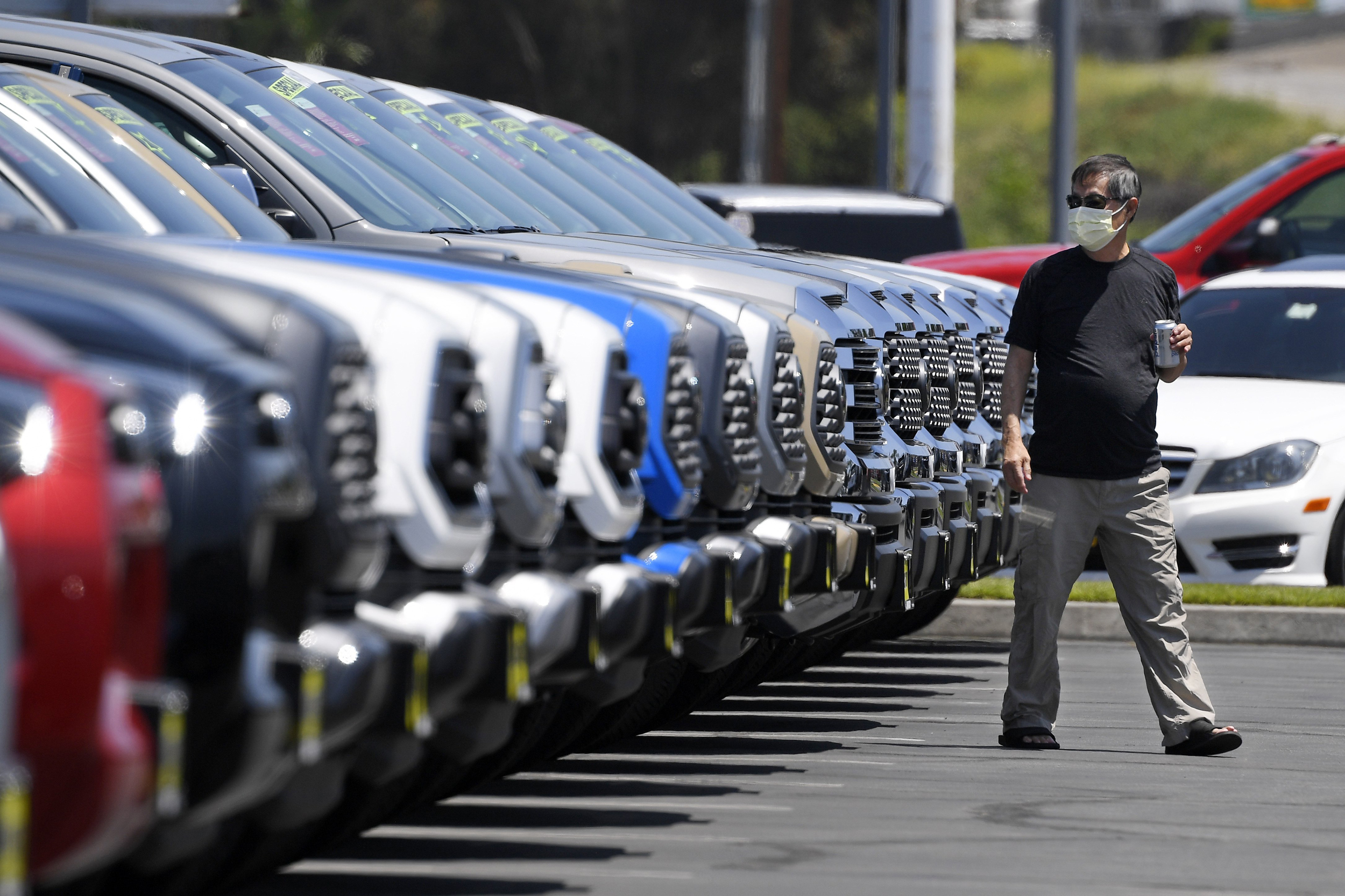 Consumers Shopping For A New Car Are Still Wary Adding To Problems For Automakers