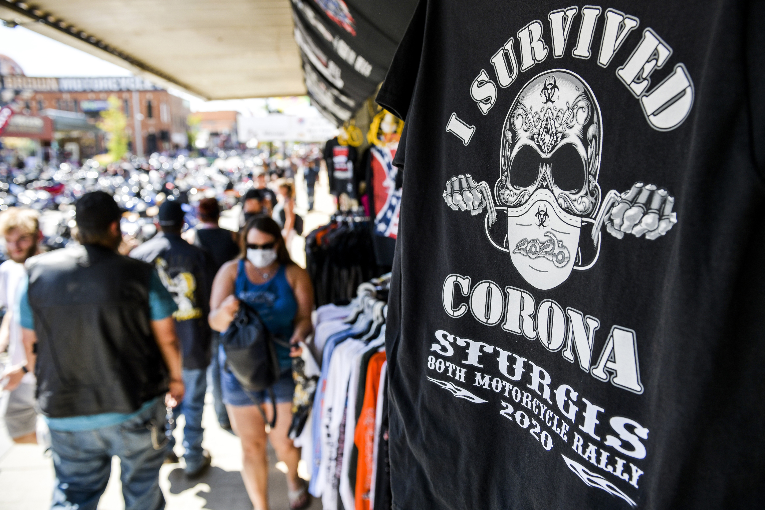 The Kentucky Sturgis Bike Rally attracts thousands of riders