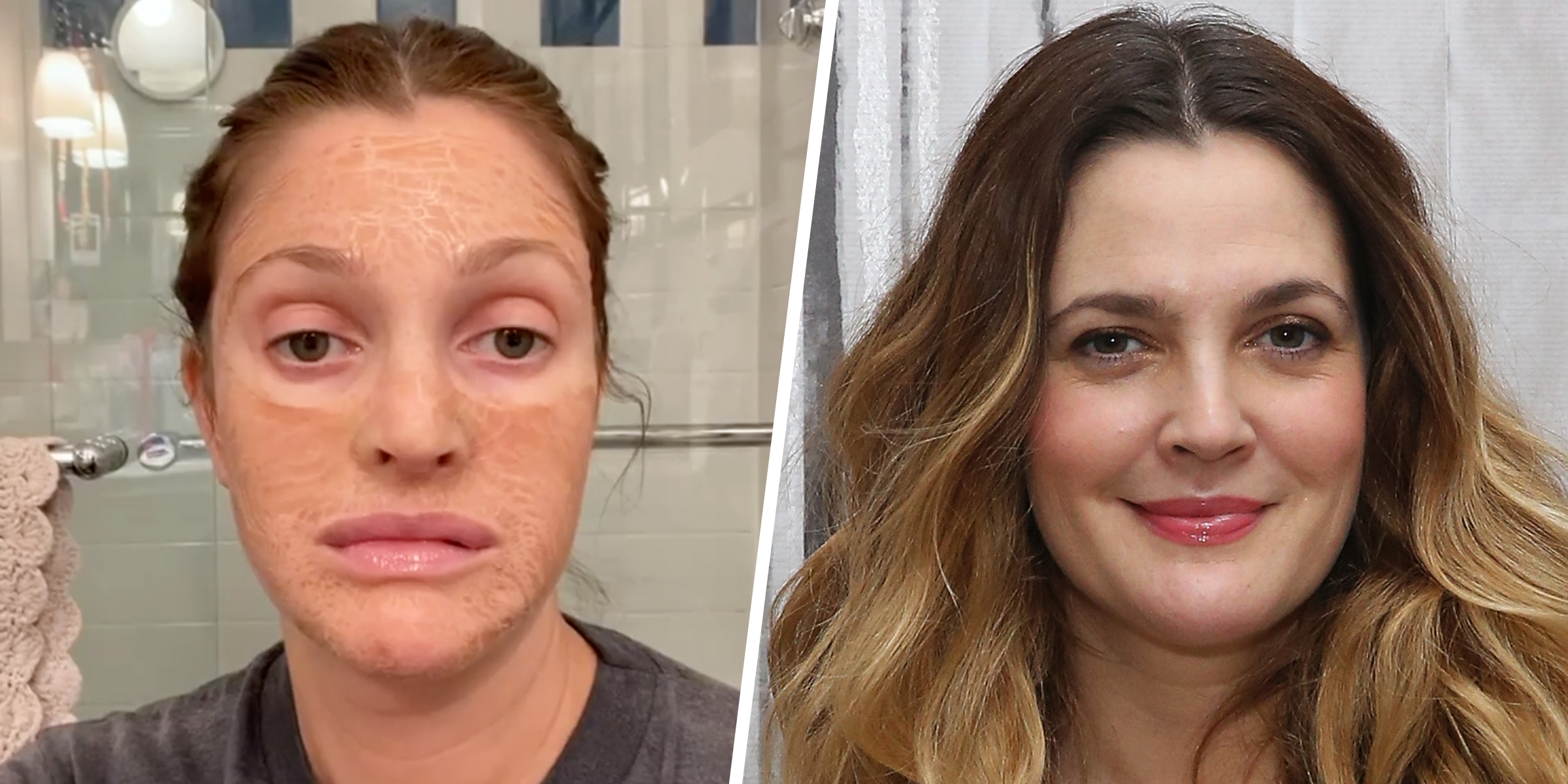 Drew Barrymore Says She Swears By The Hanacure Mask