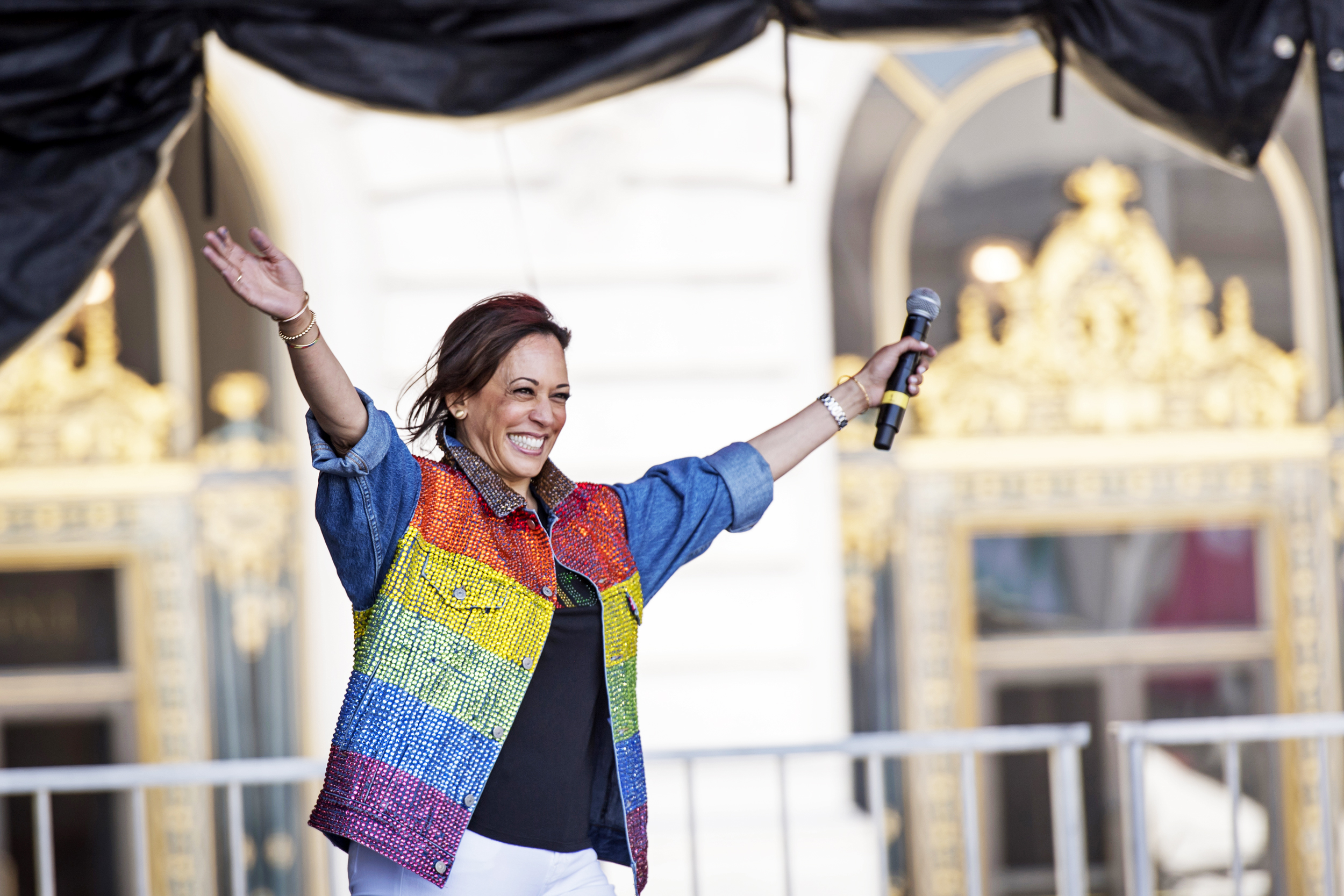 Kamala Harris Brings Pro Lgbtq Record To Biden Ticket