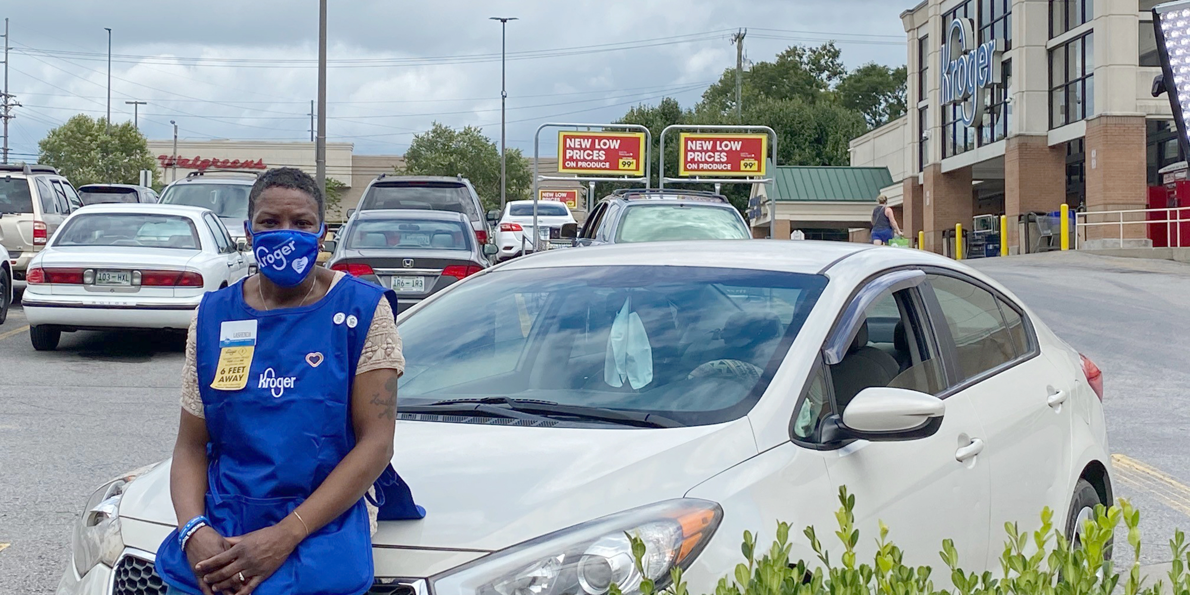 Nashville Kroger gives a job to a woman living out of her car in its parking lot