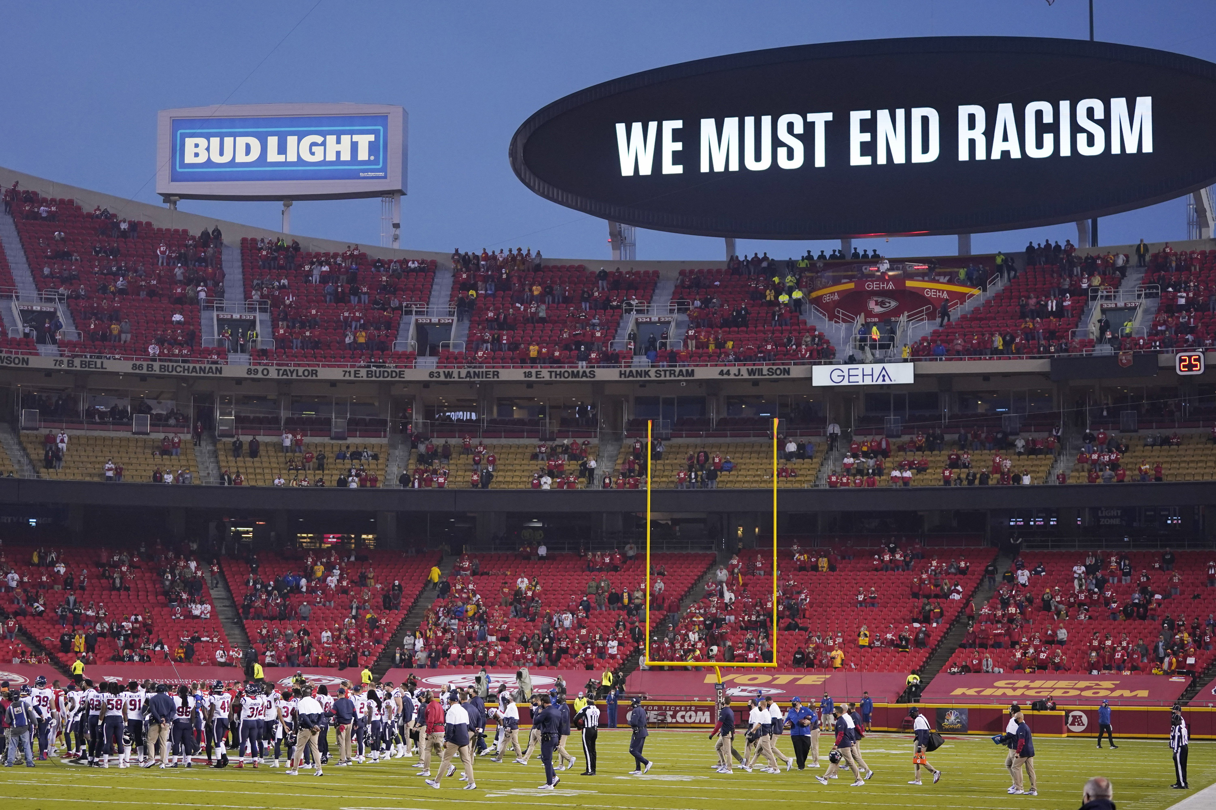 The Kansas City Chiefs In Super Bowl Liv Will Shine So Will Their Fans Racism