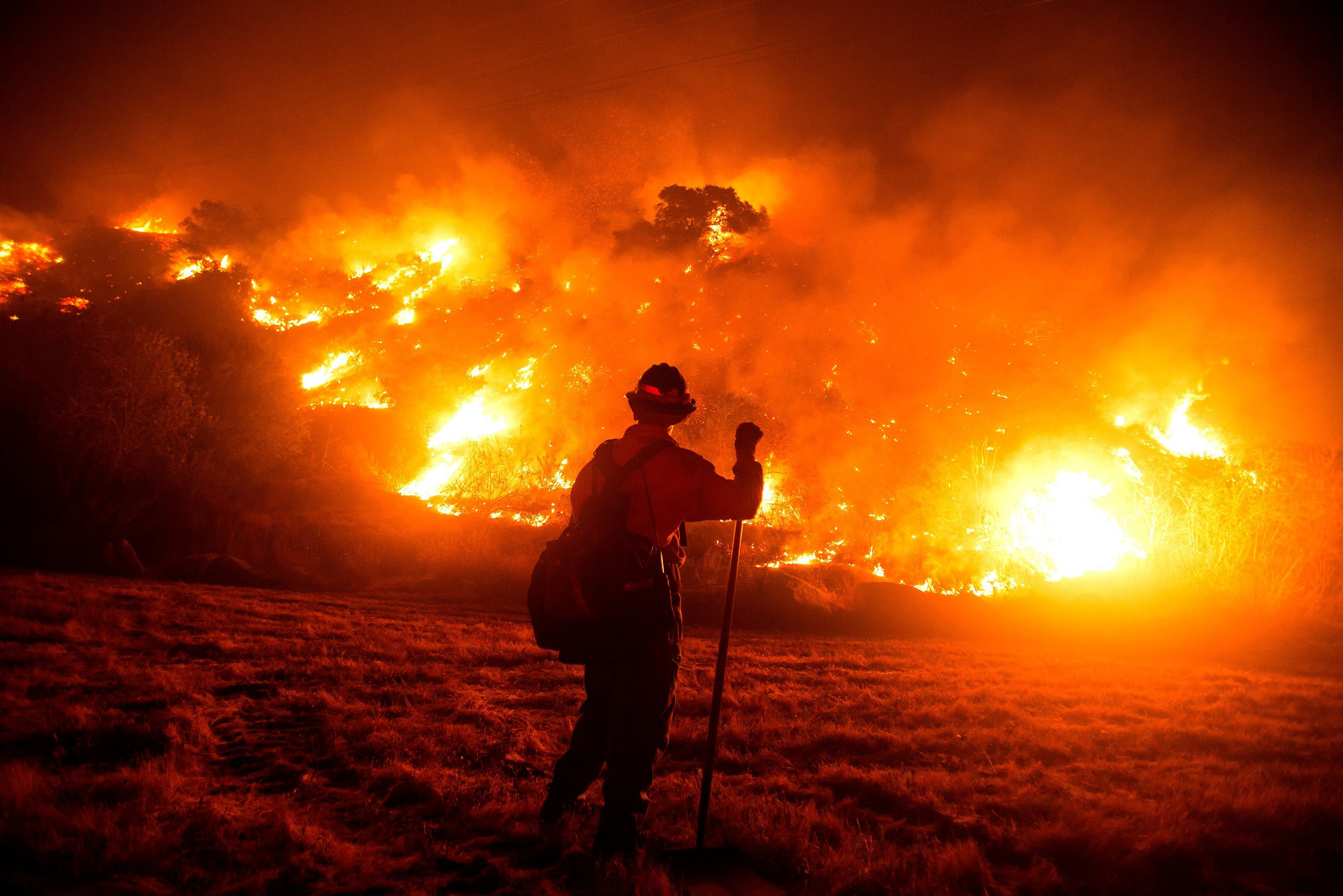 A perfect storm': Why a California wildfire continues to elude firefighters