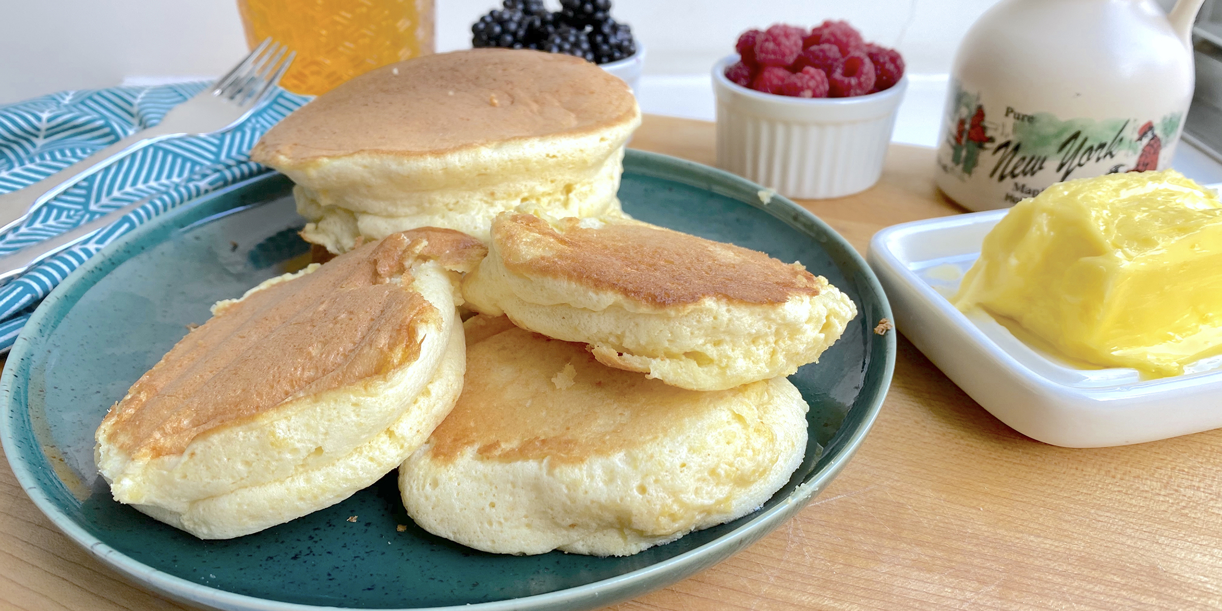 How to make the fluffiest Japanese soufflé pancakes at home