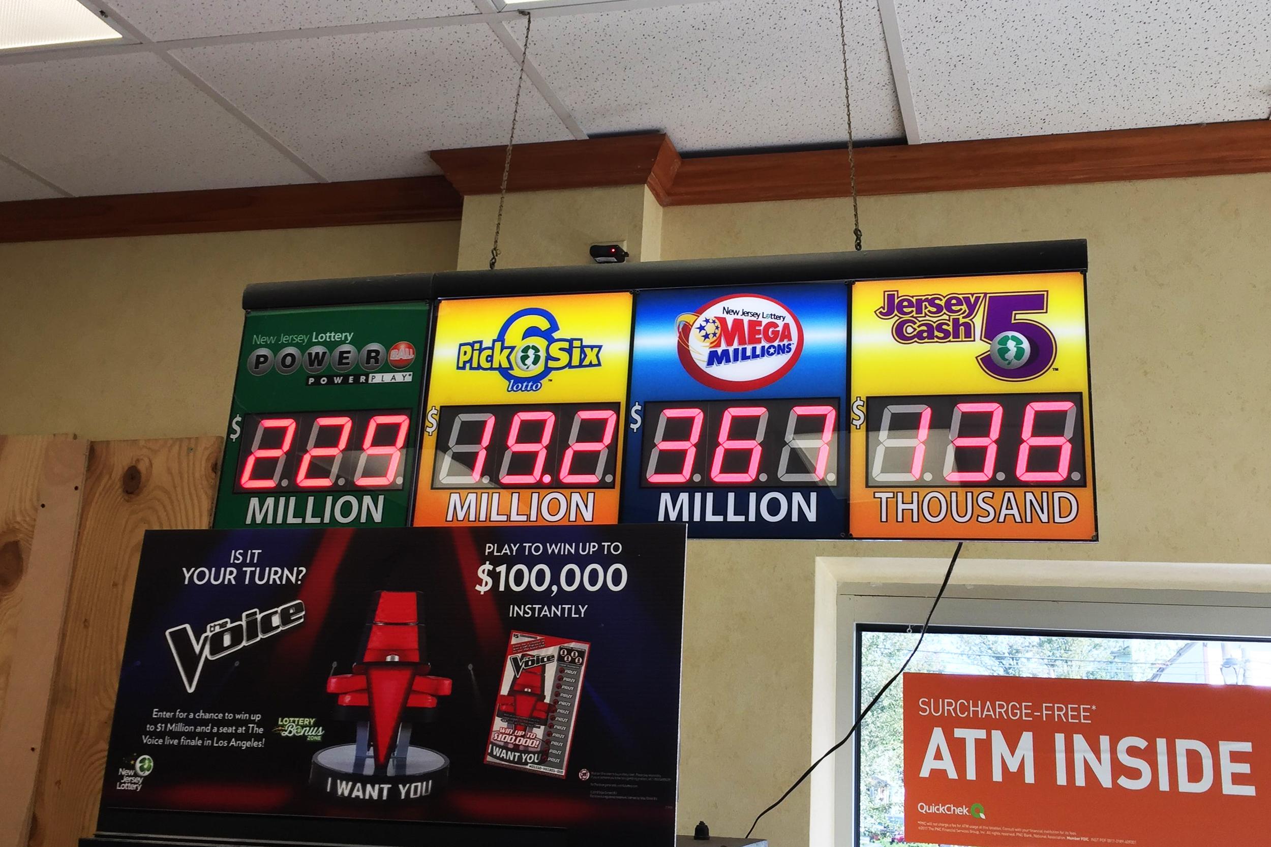 Mega Millions Winner In New Jersey Anonymously Claims 202 Million Jackpot