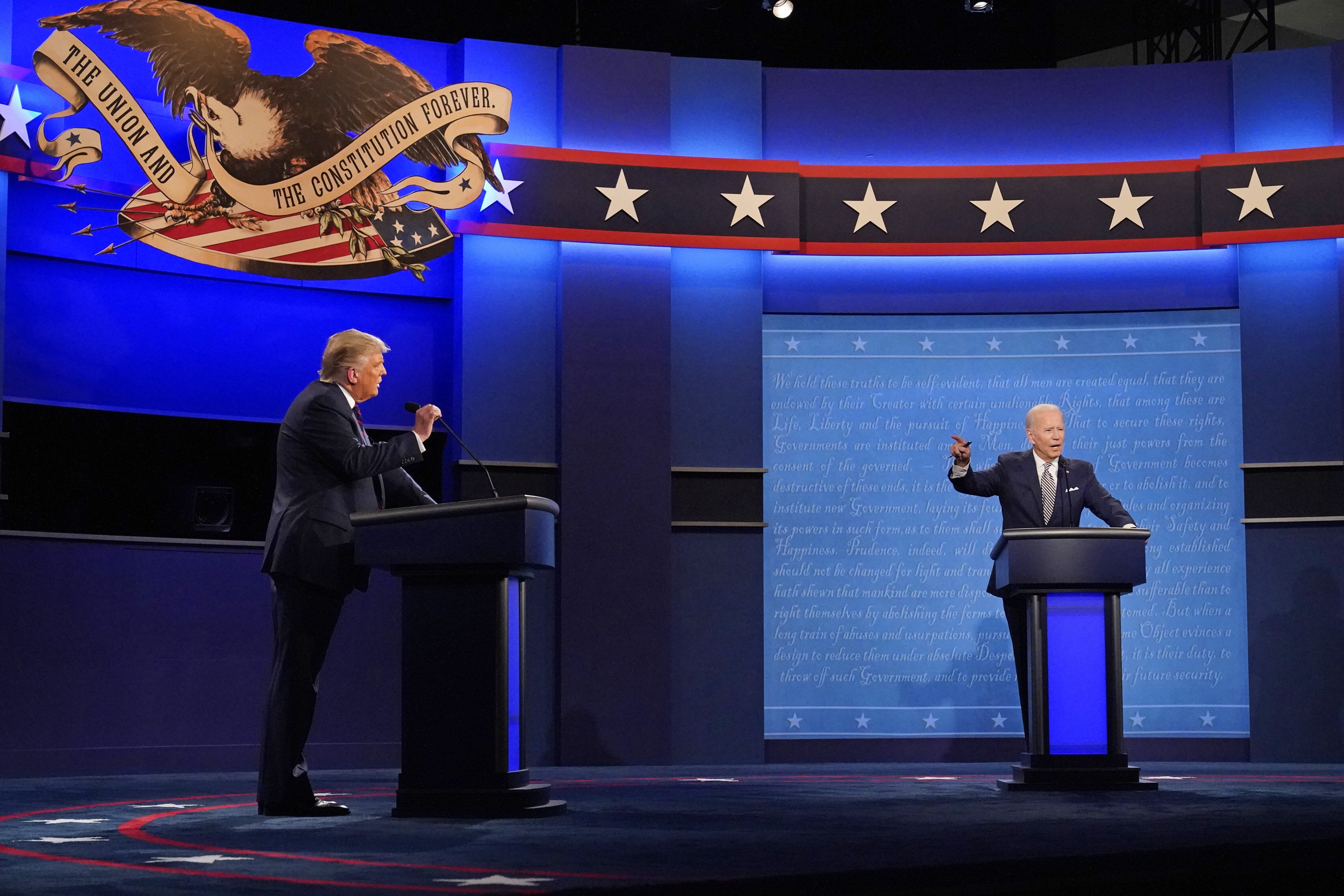 Trump and Biden will have mics cut during opponent's answers
