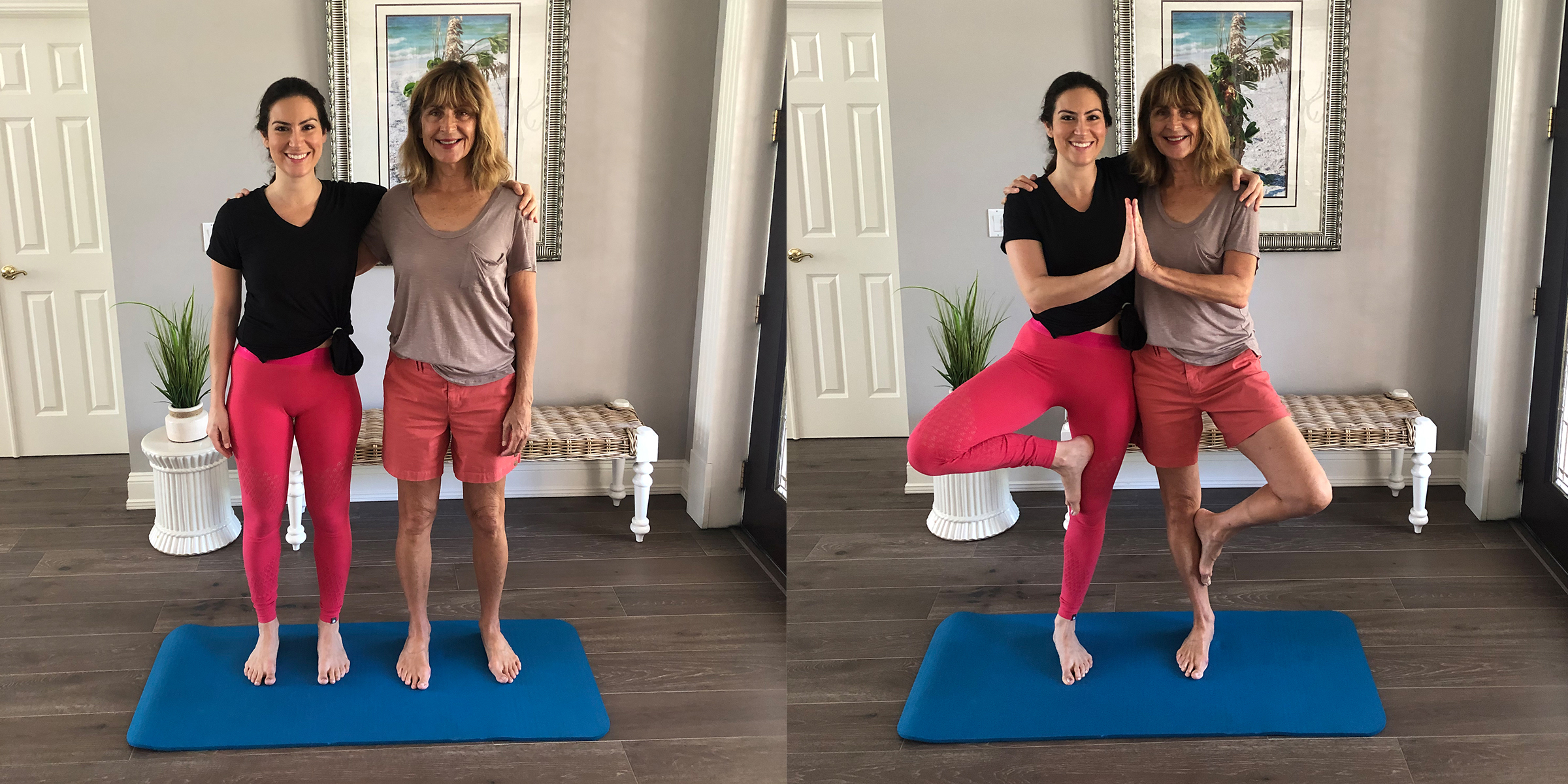 Easy Yoga Poses Two Person
