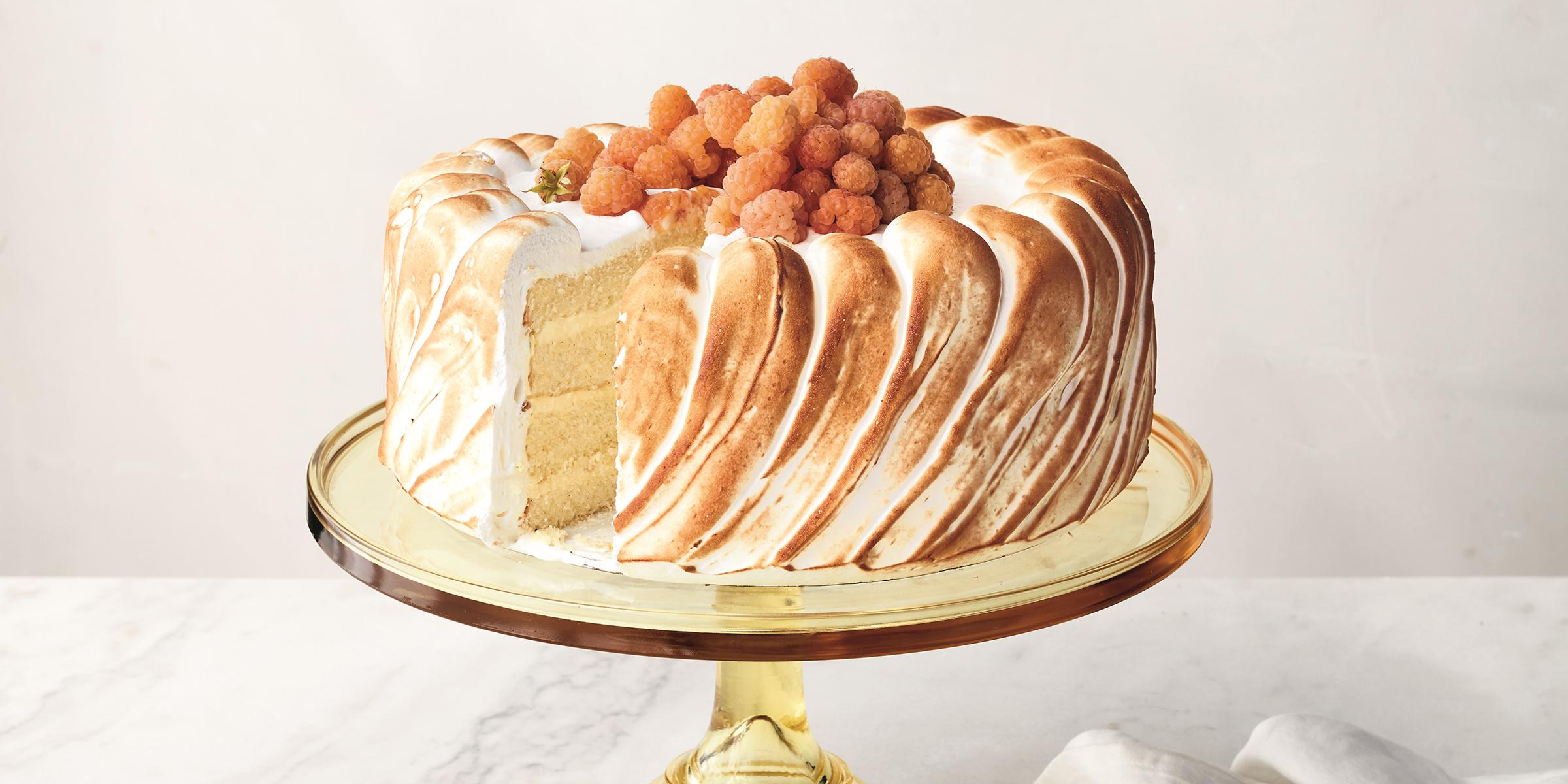 Martha Stewart's lemon mousse cake is light as air