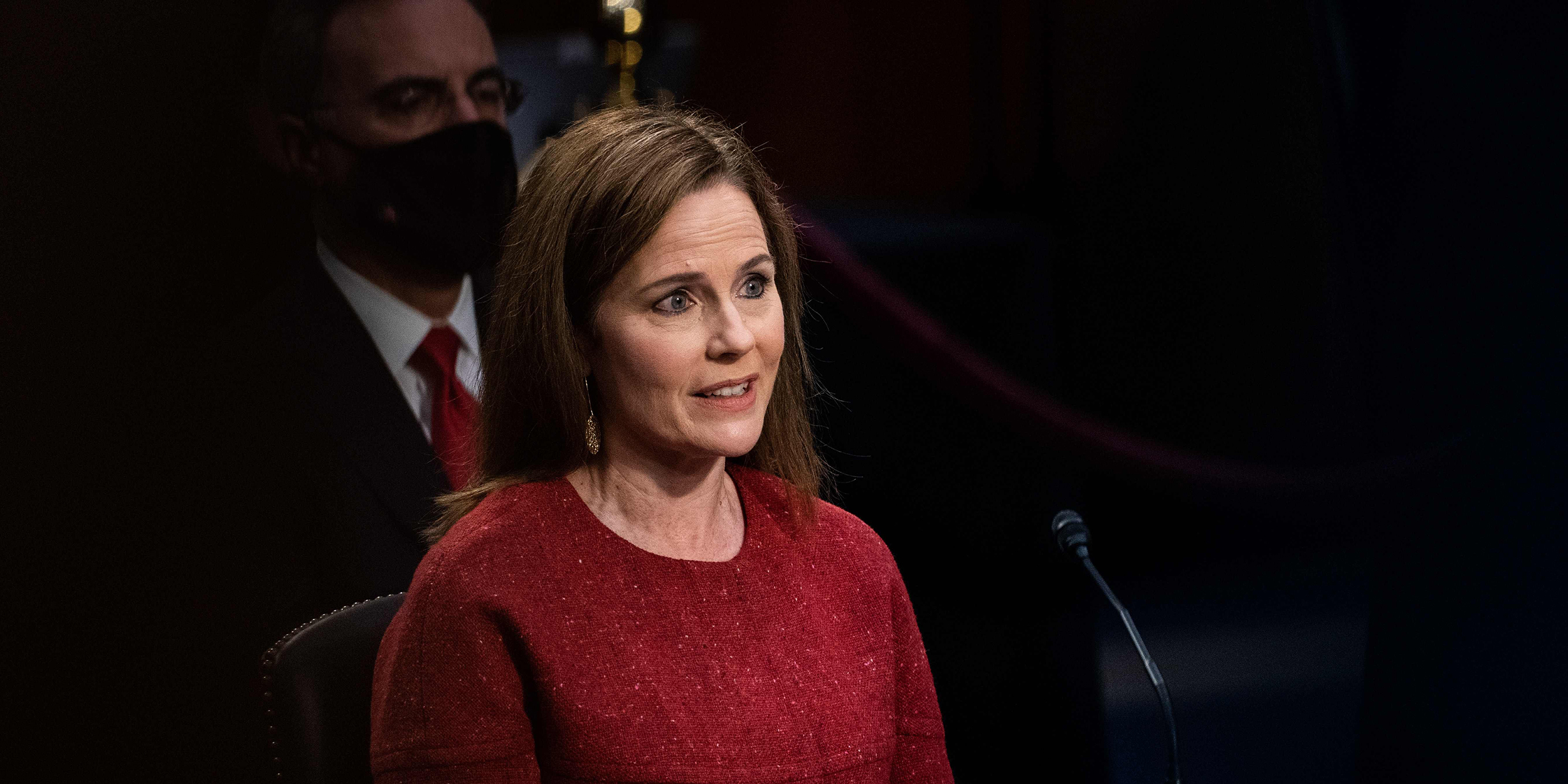 Trump's words haunt Amy Coney Barrett as she vows not to be a 'pawn' on  Supreme Court