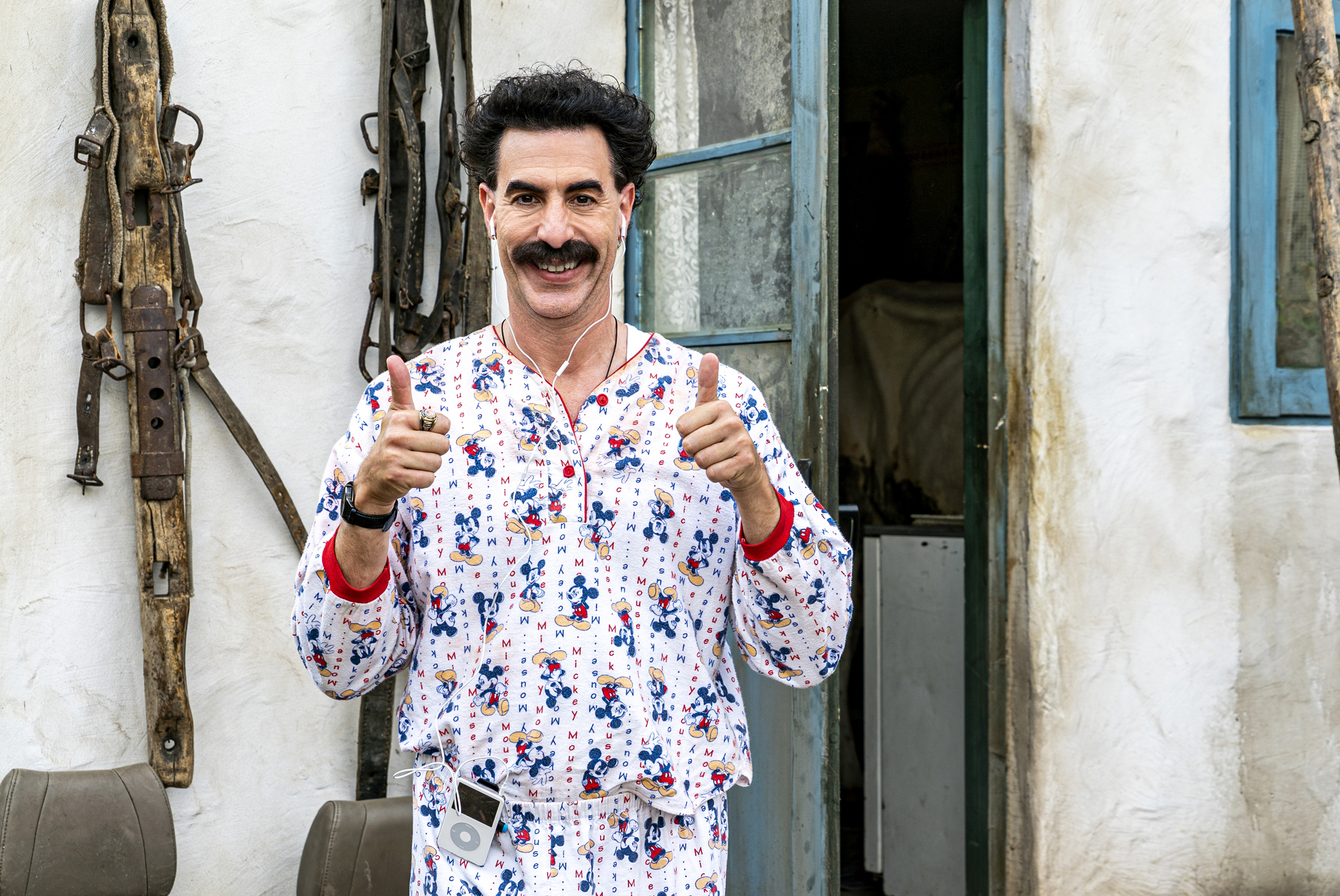 The new 'Borat' is a superhero movie. Mocking the cruel and powerful is a  great skill right now.