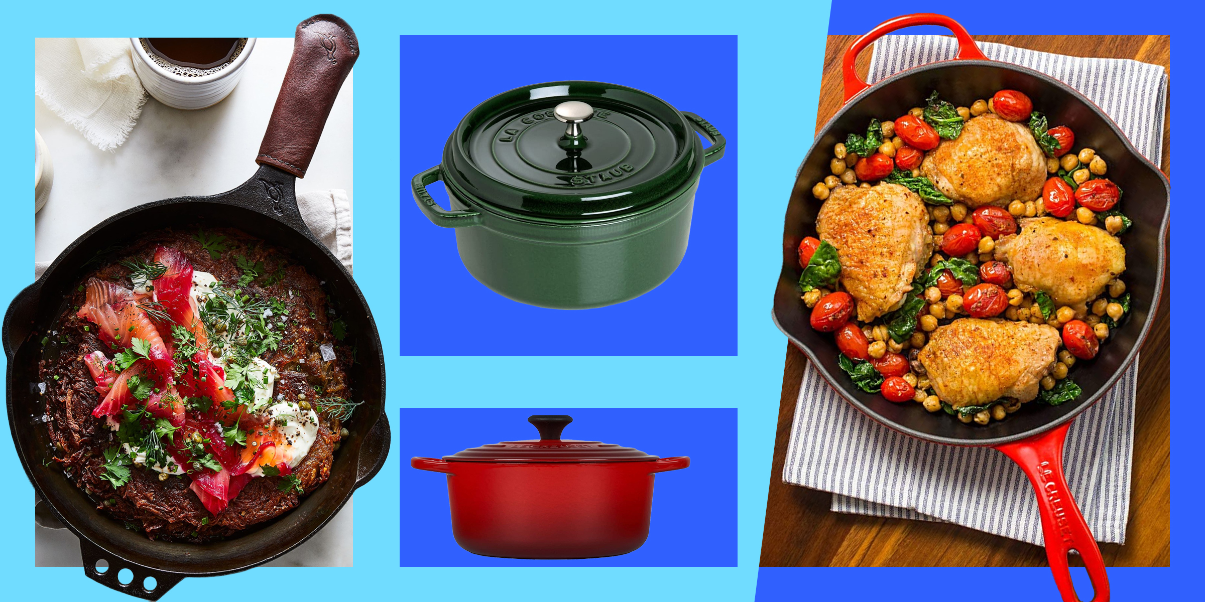 The Best Cast Iron Cookware According To Chefs And Experts