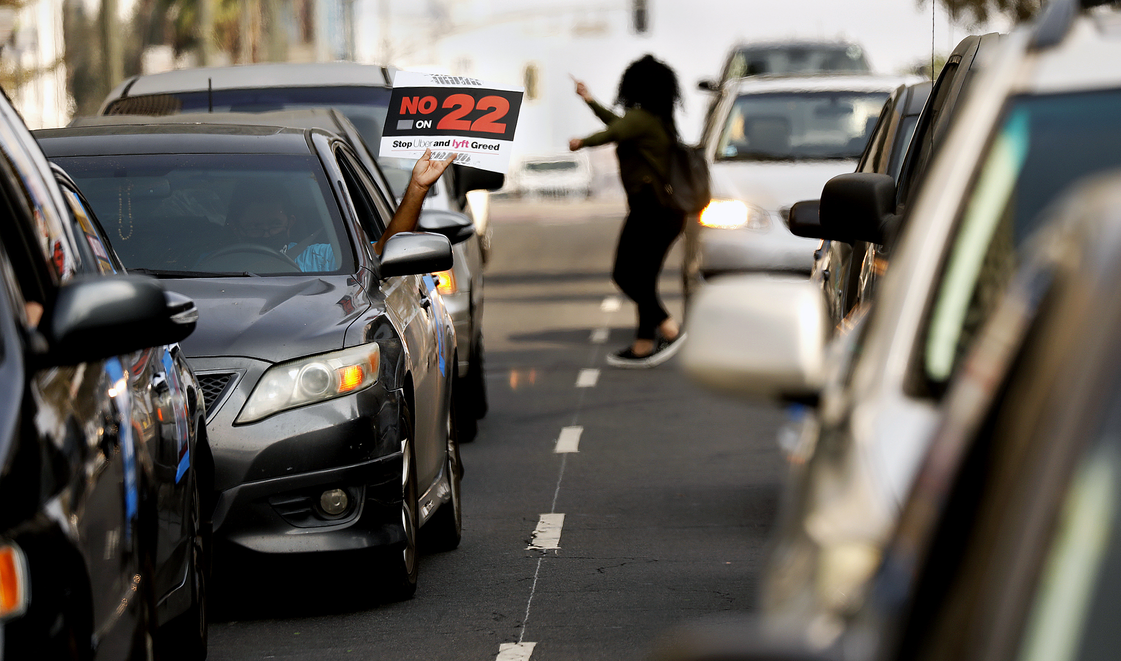 Calif Uber Lyft Measure Could Take Toll On Asians Who Are 1 In 3 Drivers In Bay Area