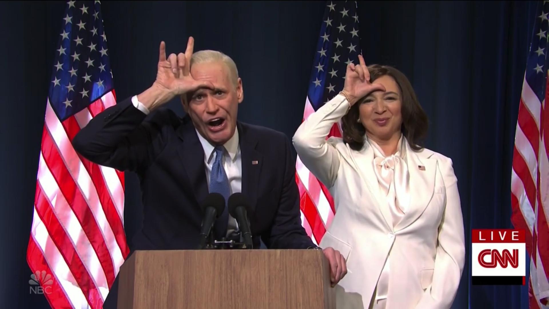 Saturday Night Live' celebrates Biden win, calls Trump 'loser'