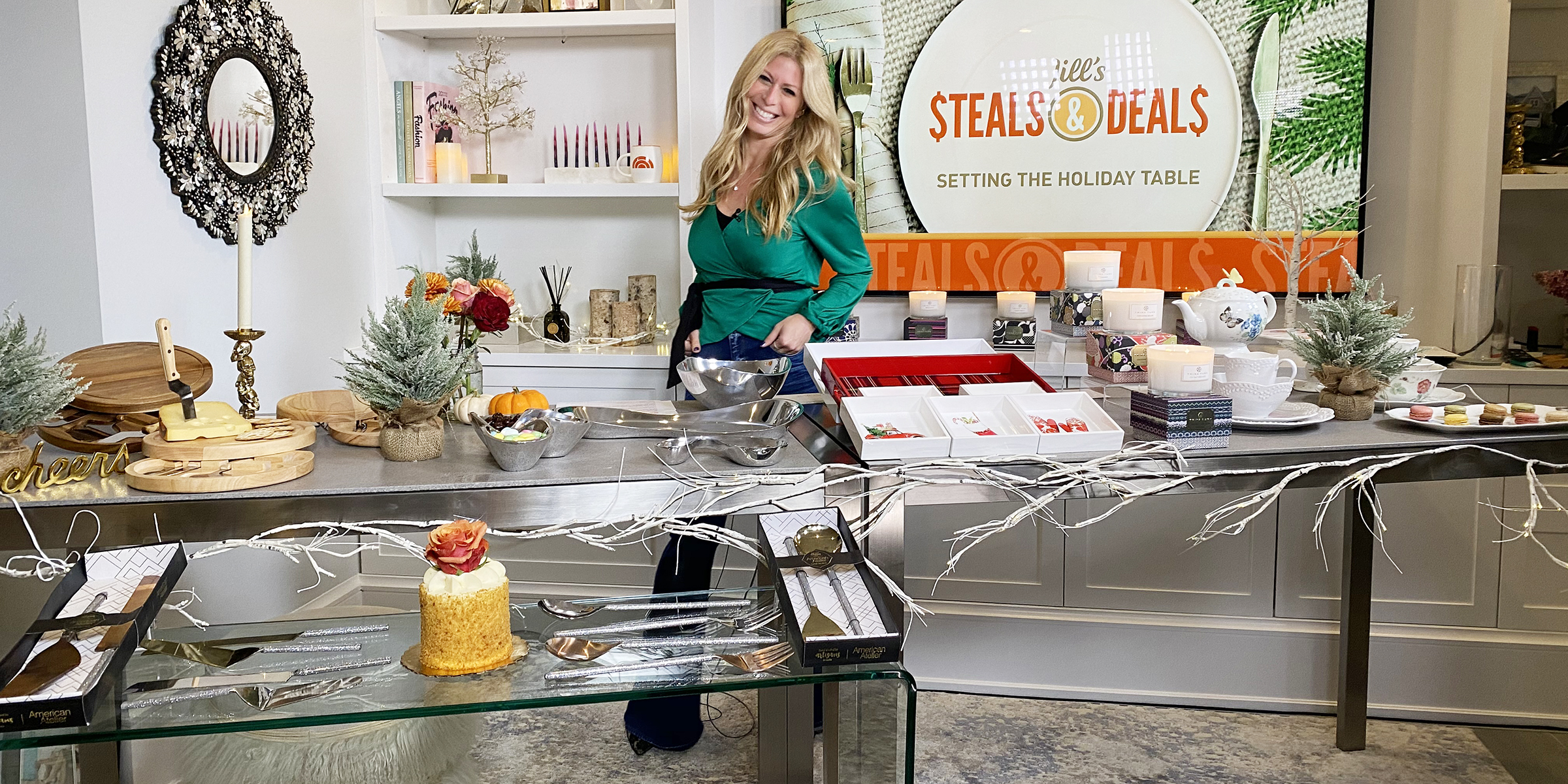 Jill S Steals And Deals Holiday Table Decor You Ll Love This Season