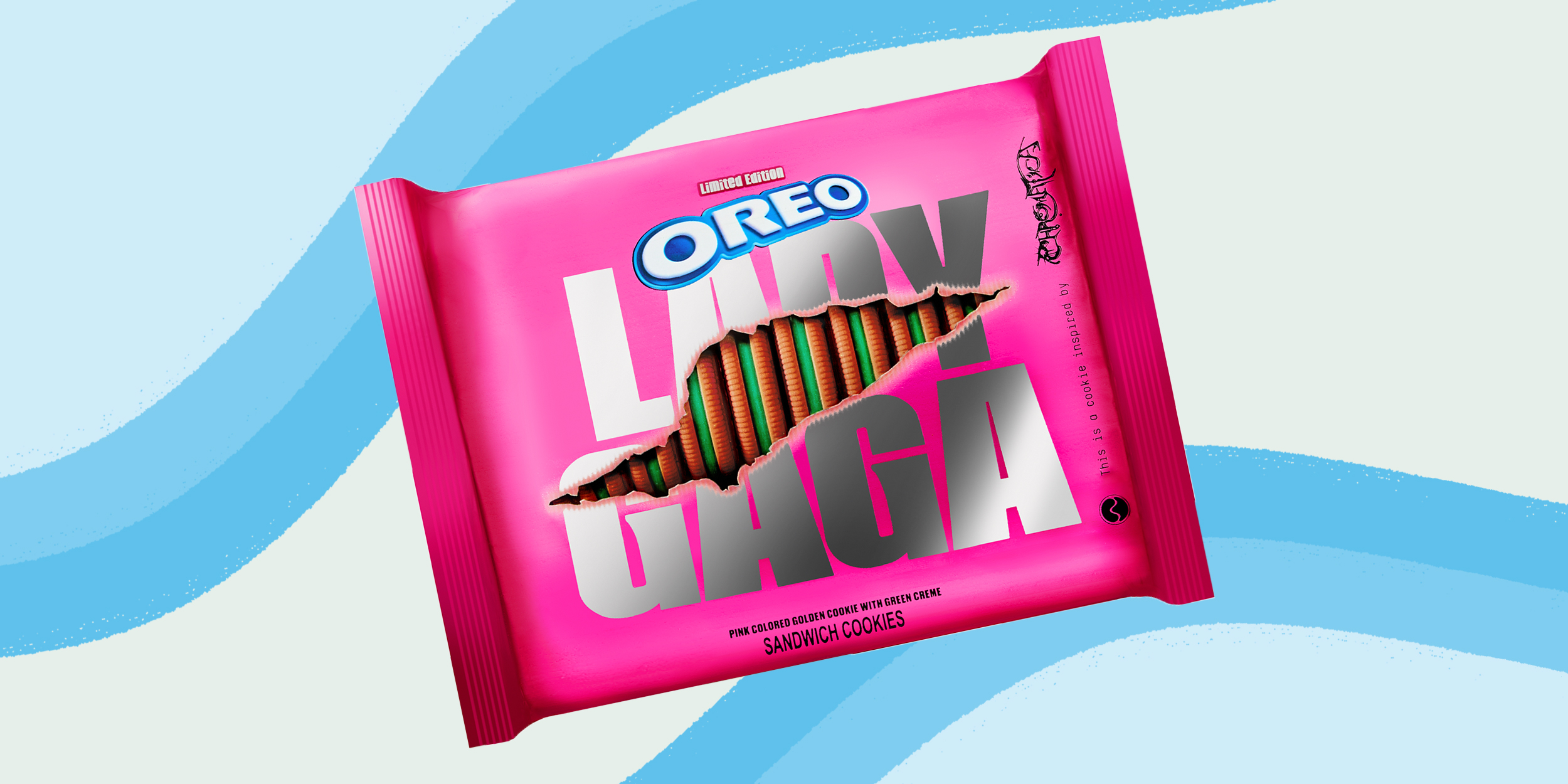 Oreo And Lady Gaga Team Up For Chromatica Cookie Collab