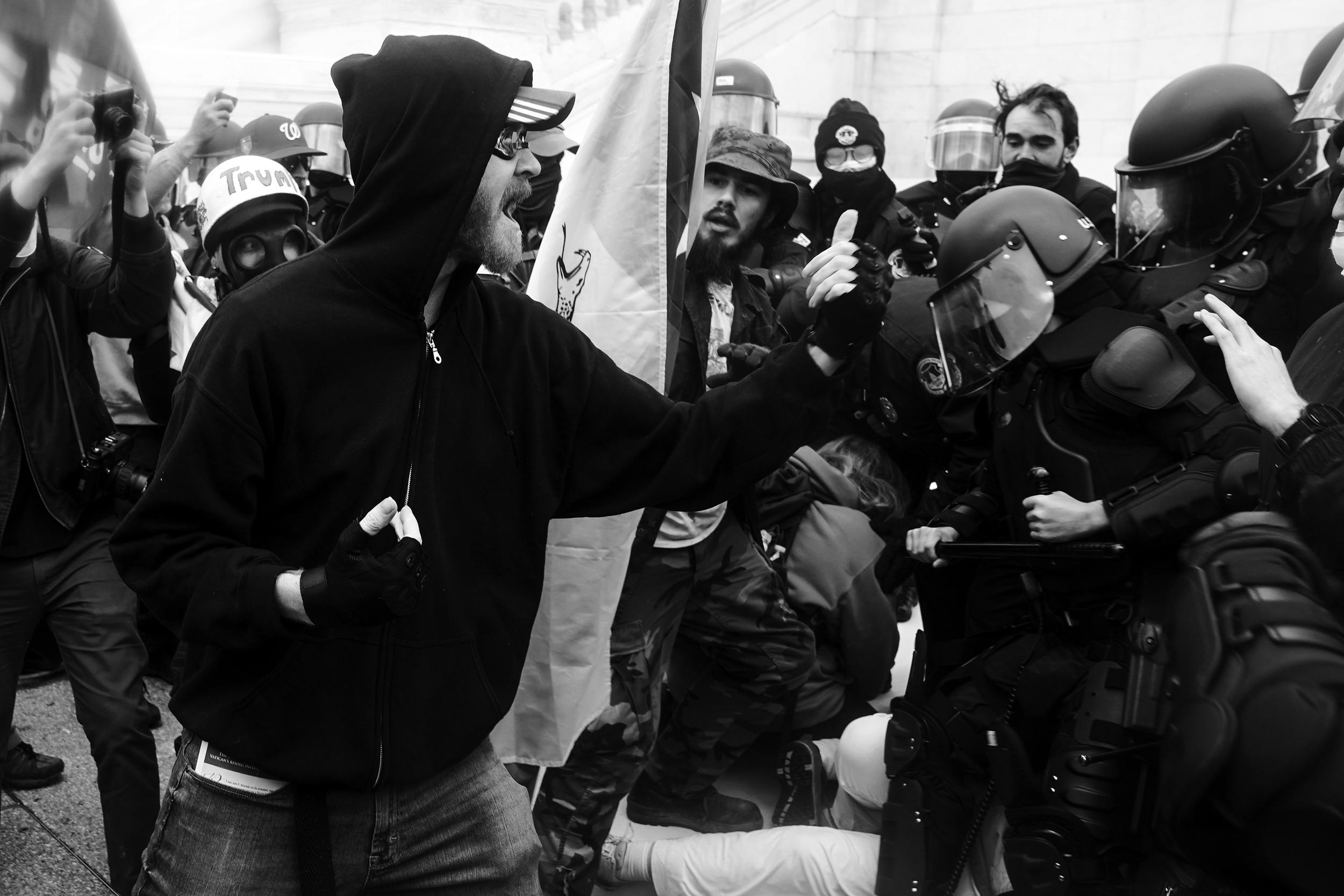 Black citizenship is still a myth. The Capitol riot response proves it.