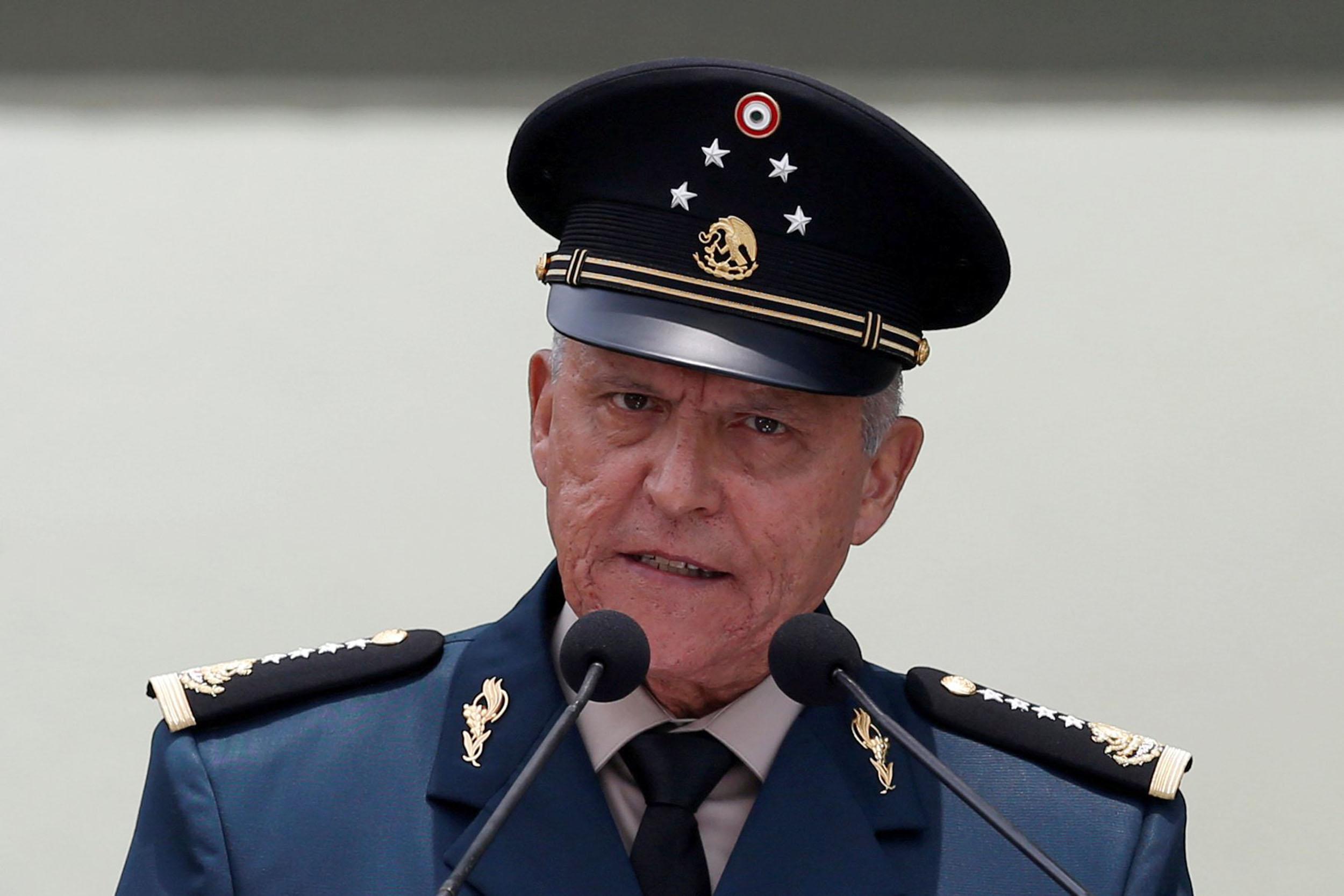 Mexico clears ex-defense chief U.S. had accused of cartel ties