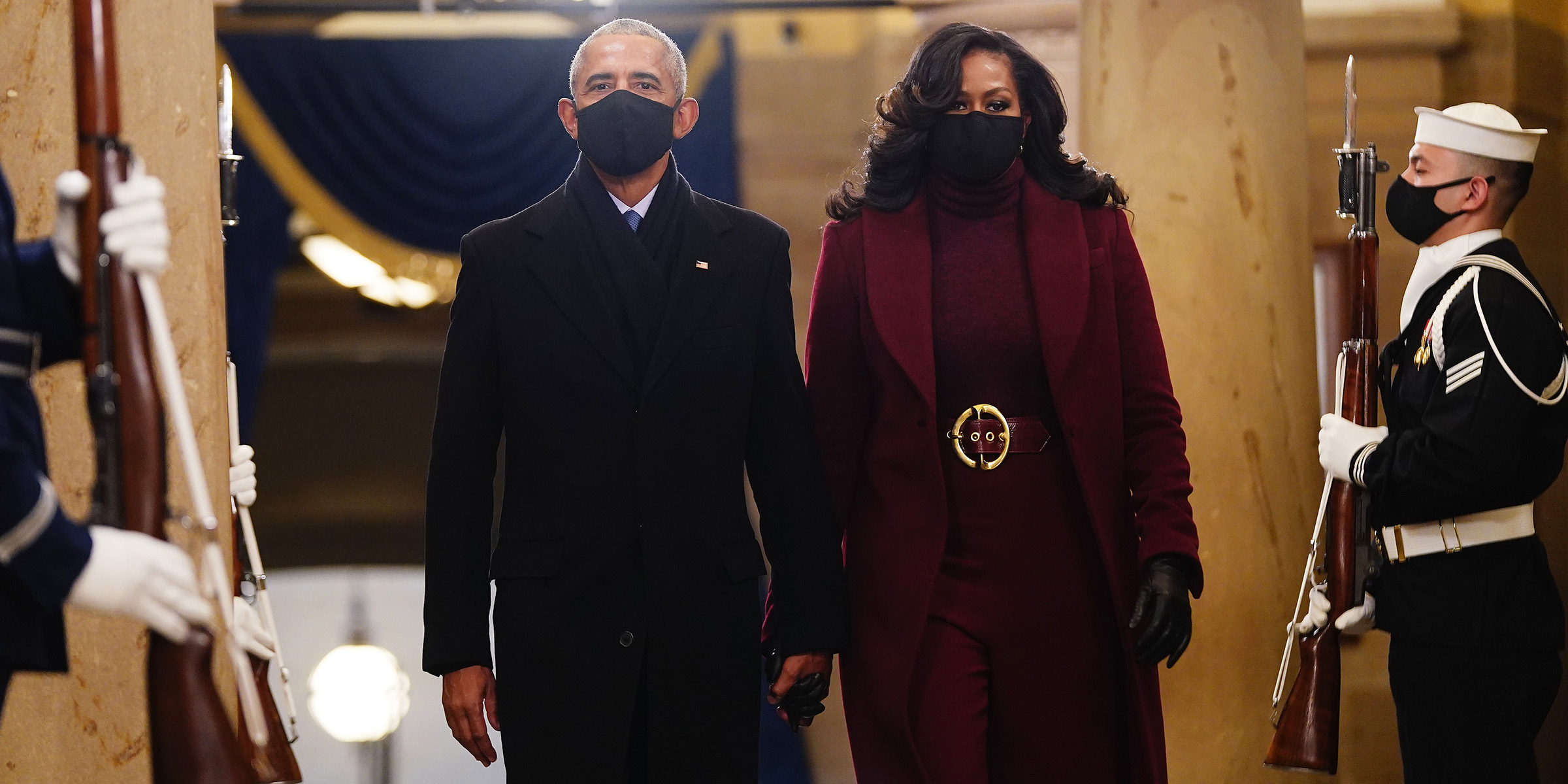 Image result for michelle obama inauguration