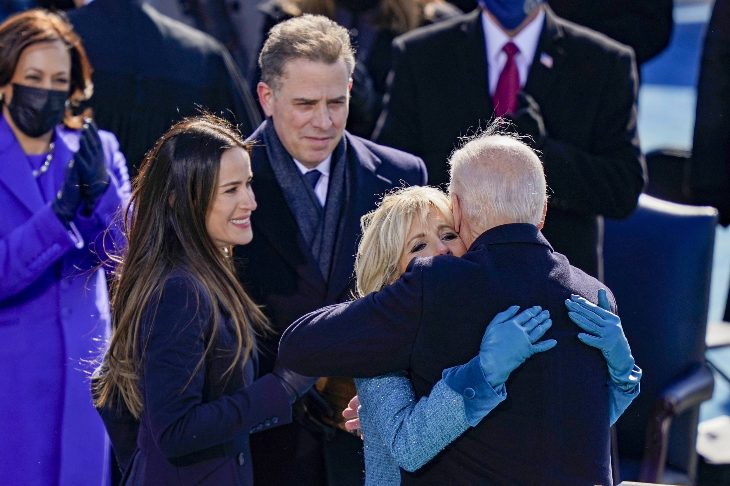 Biden Takes Office Inauguration Day In Pictures