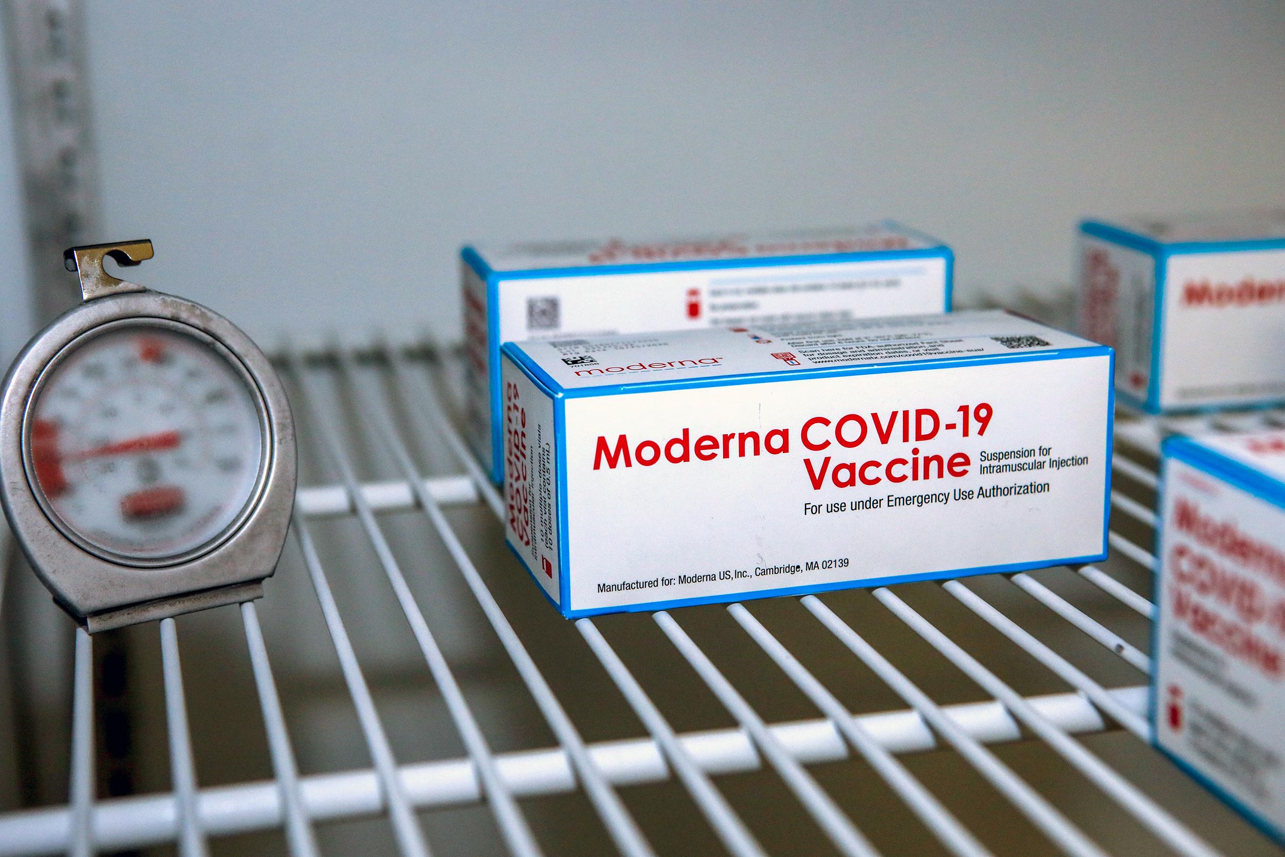 1,900 Covid vaccine doses ruined by loose freezer plug at Massachusetts VA hospital