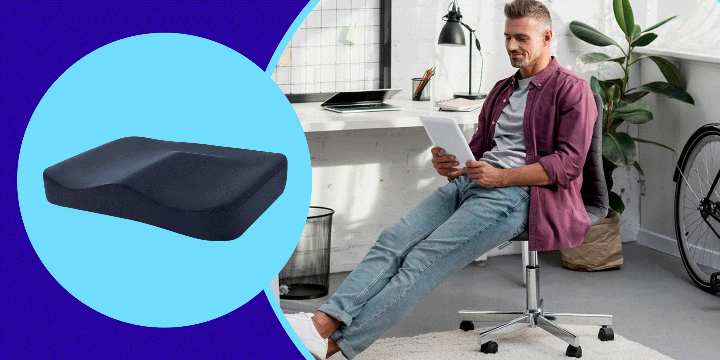 10 Supportive Seat Cushions In 2021 For, Memory Foam Chair Pads Australia