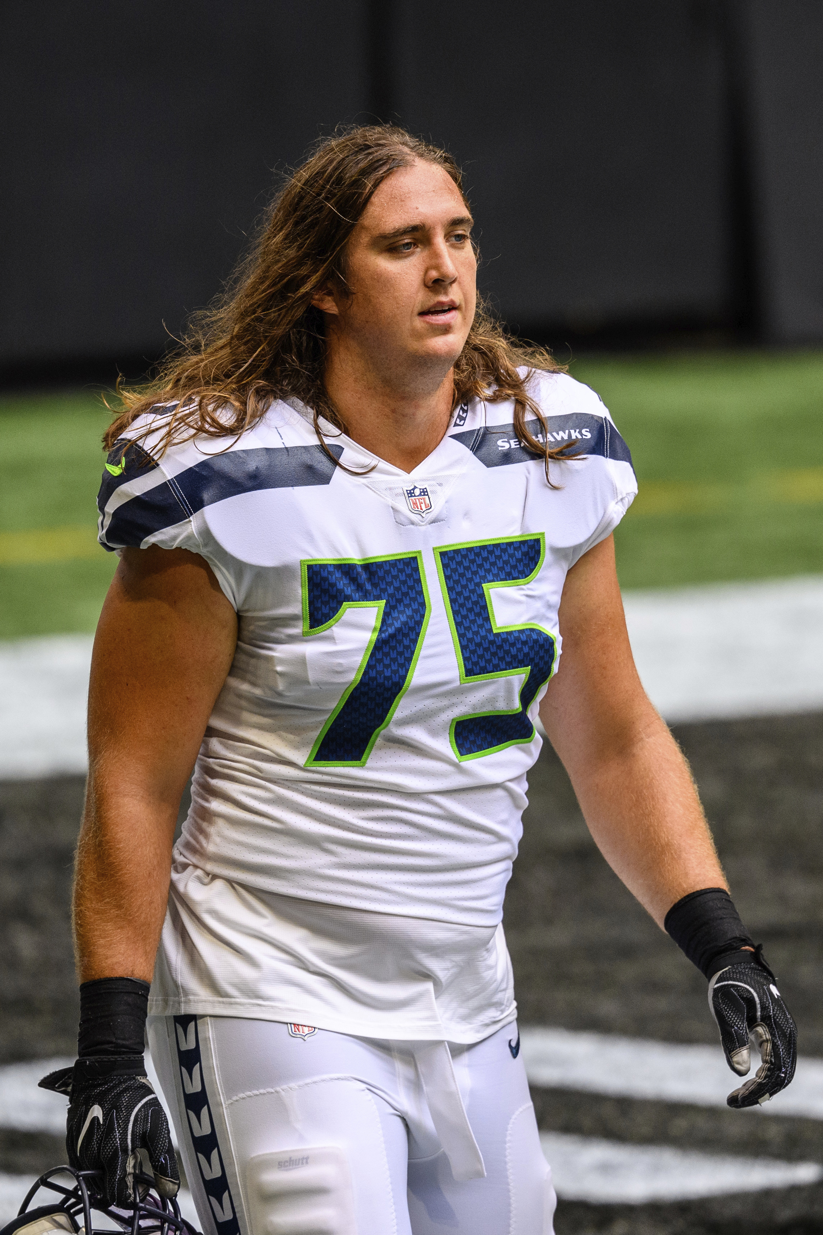 Seattle Seahawks lineman Chad Wheeler arrested on suspicion of domestic violence