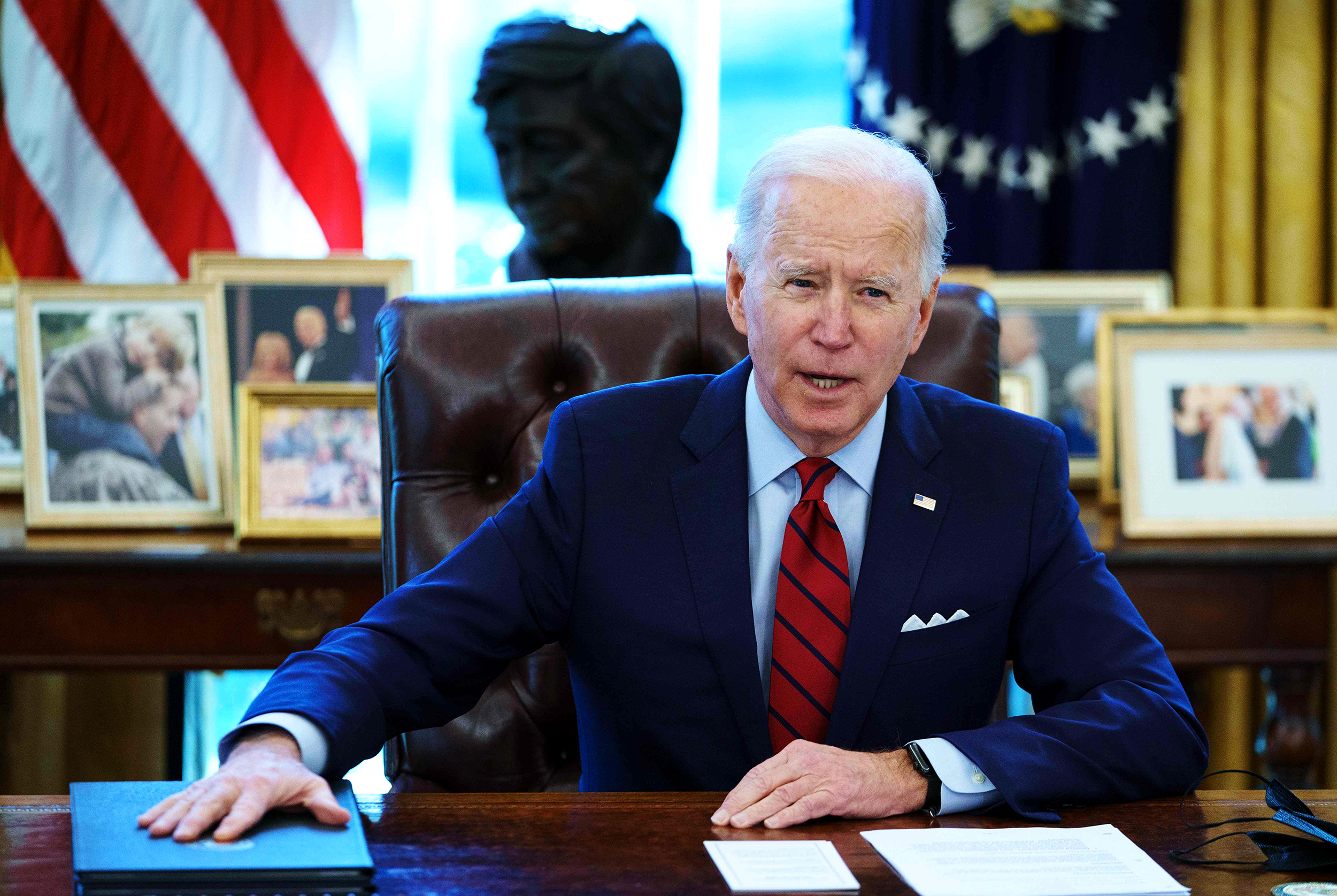 Israel-Hamas Ceasefire: Biden Pledges To Help Rebuild Gaza, Urging A Two-State Solution